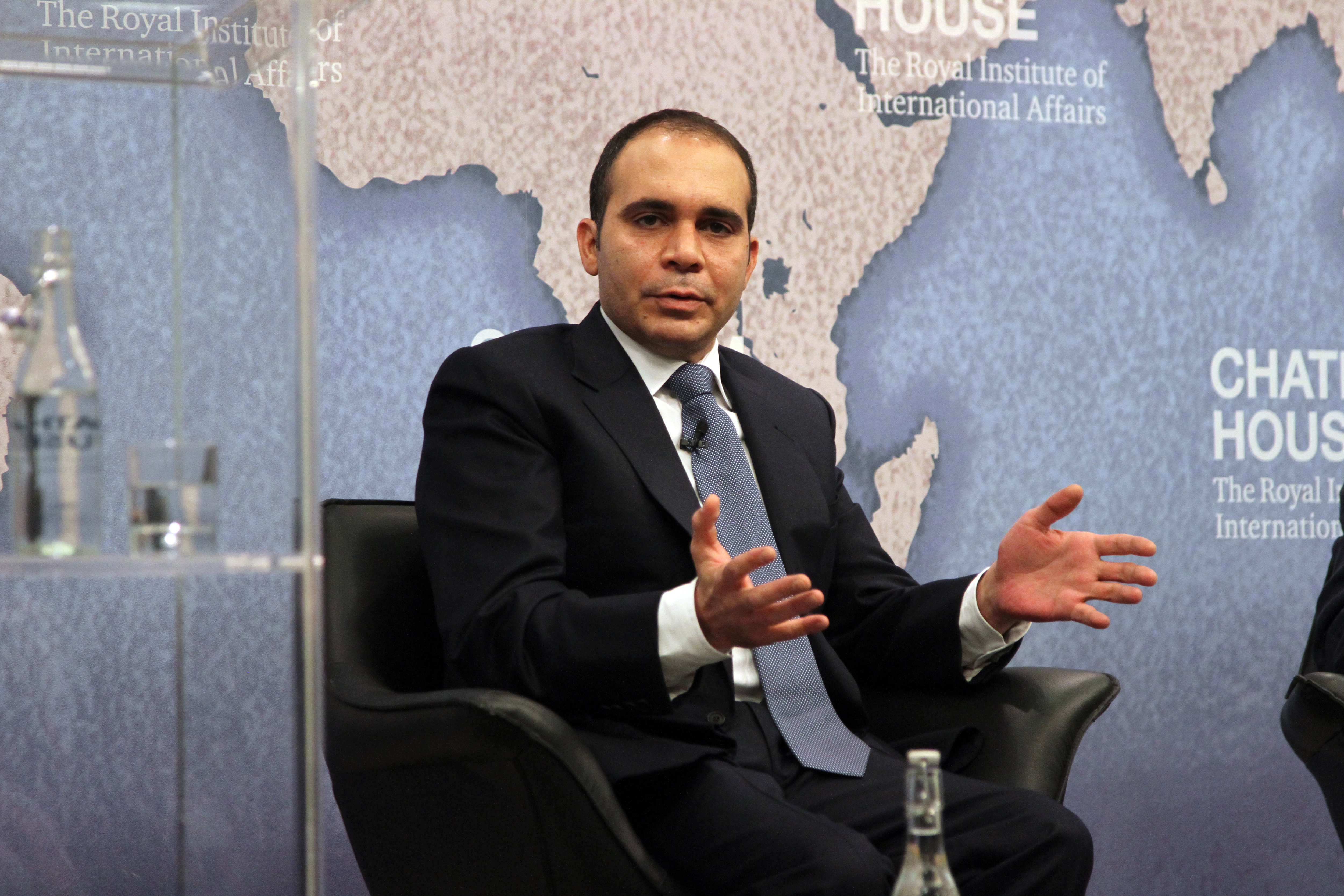 Prince Ali Bin Al Hussein of Jordan vows to root out corruption at footballs governing body, in a speech at Chatham House as part of his bid to become president of FIFA.