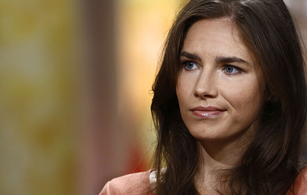 Amanda Knox appears on NBC News'  Today  show.