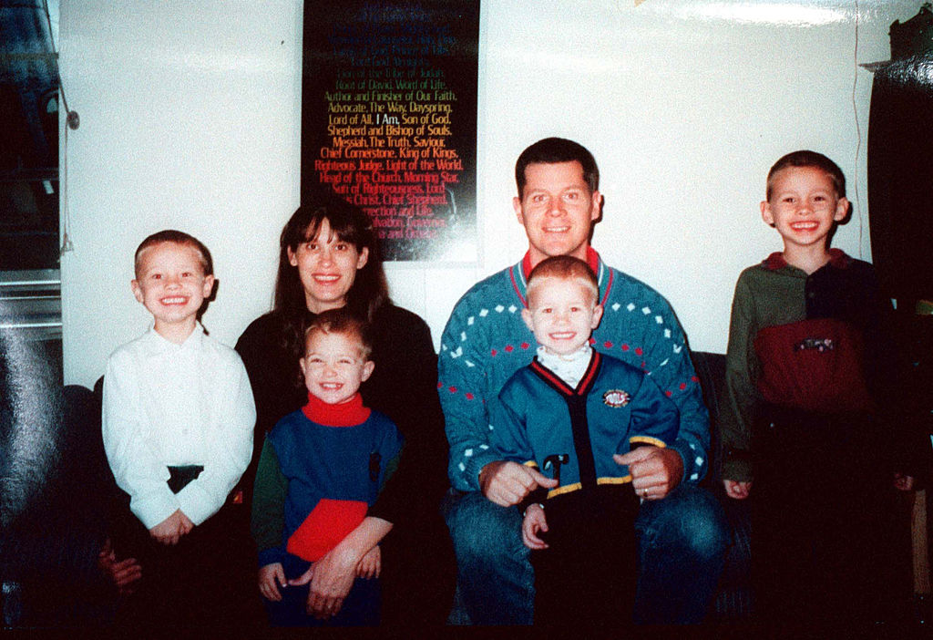 This undated family photo shows four of the five children of Andrea Yates, who confessed on June 20, 2001 to murdering her children by drowning them in their home in Clear Lake, a suburb of south Houston, Texas.