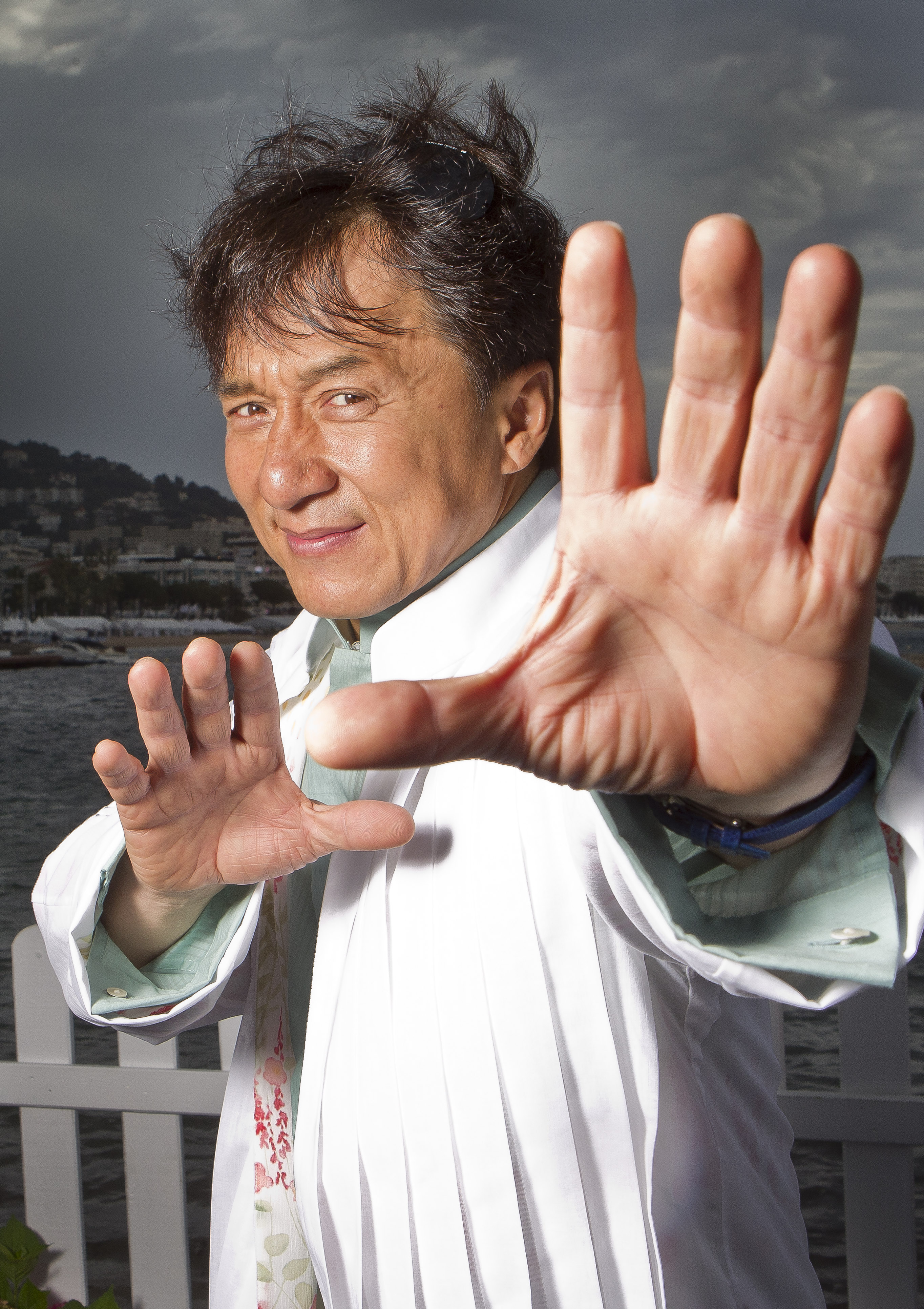 Hong Kong-born action star Jackie Chan will receive a lifetime achievement Oscar recognizing his lifetime contribution to film (file photo)