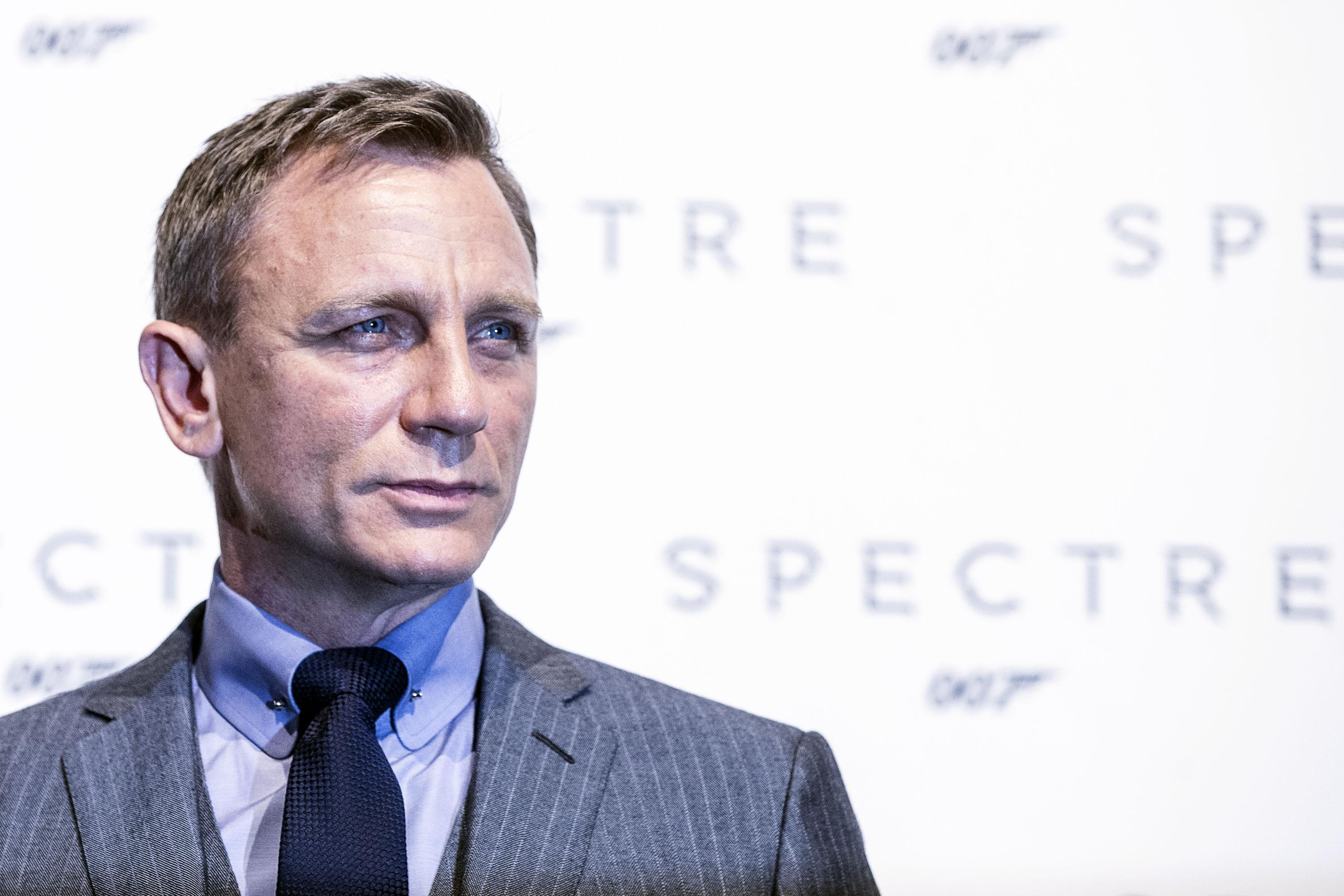 The UK's Secret Intelligence Service, MI6, is to recruit 1000 more spies by 2020. (File photo of Daniel Craig at a press event for James Bond film Spectre).