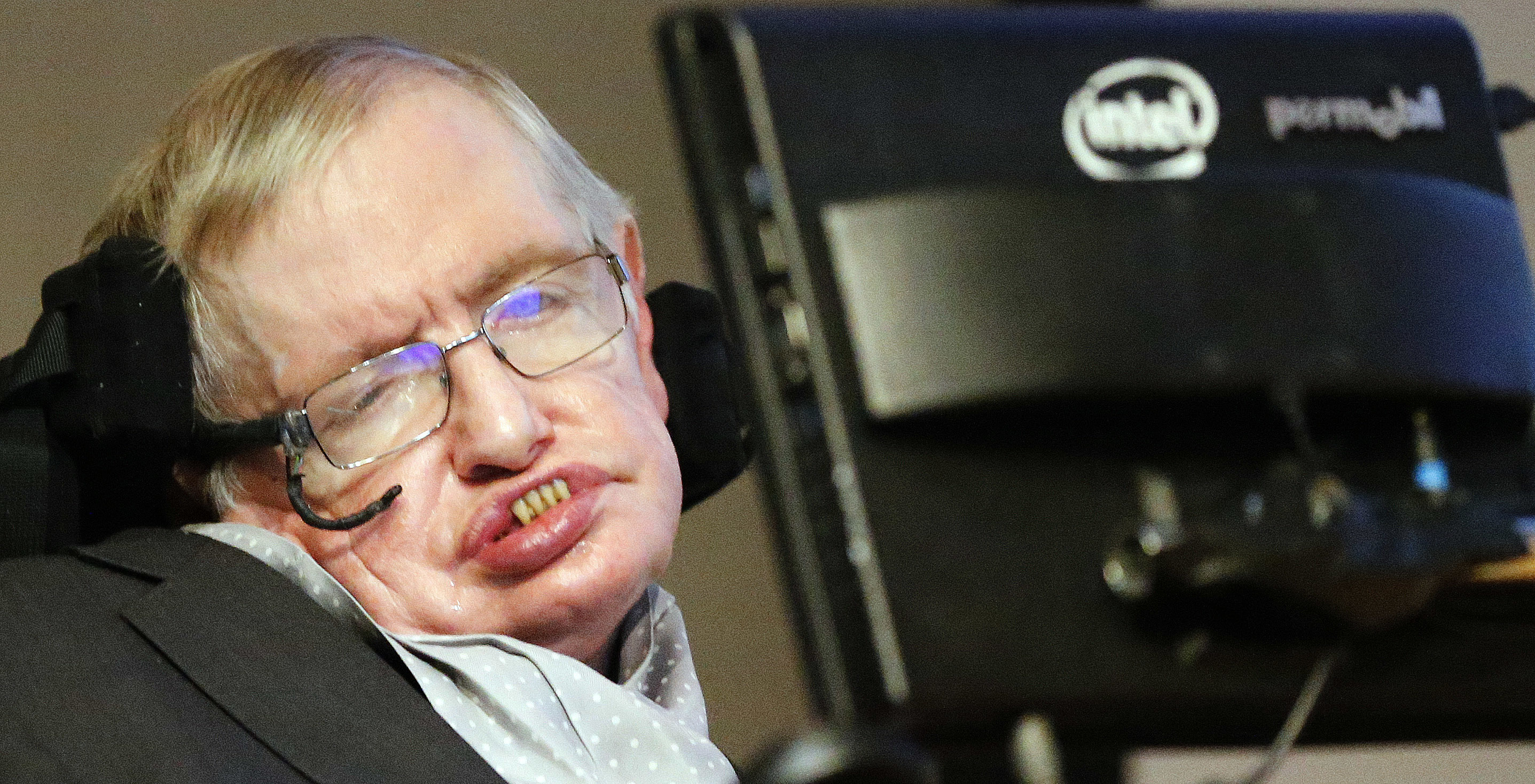 Stephen Hawking strongly believes in the potential of commercial space travel, both for exploration and the preservation of humanity (file photo)