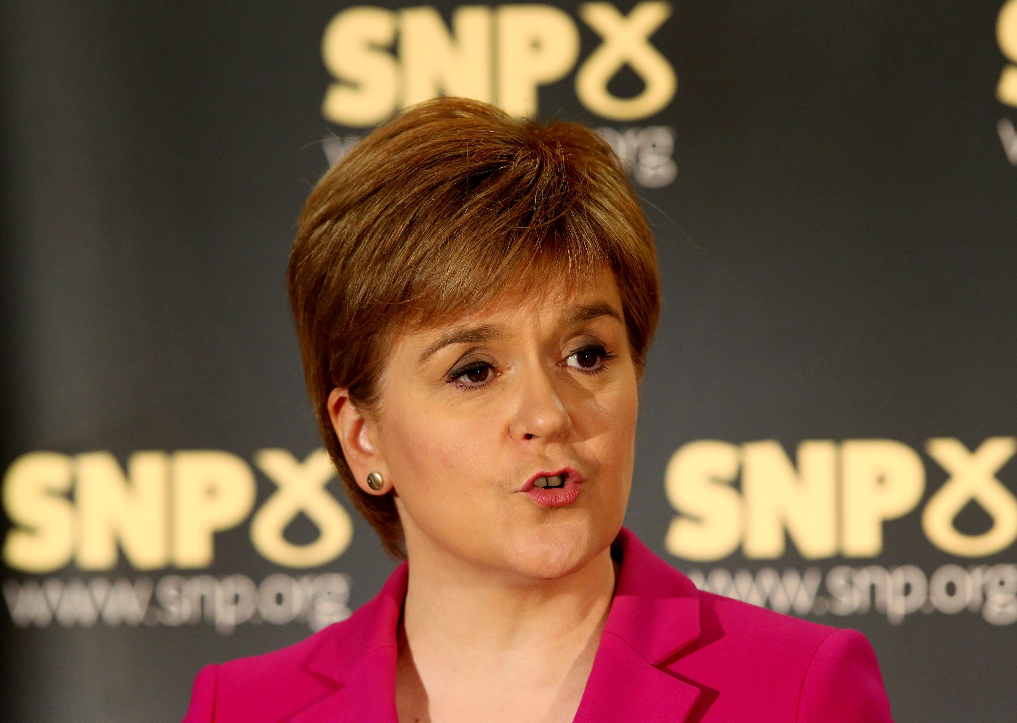 Scotland's First Minister Nicola Sturgeon has revealed for the first time that she had a miscarriage in January 2011 (file photo)
