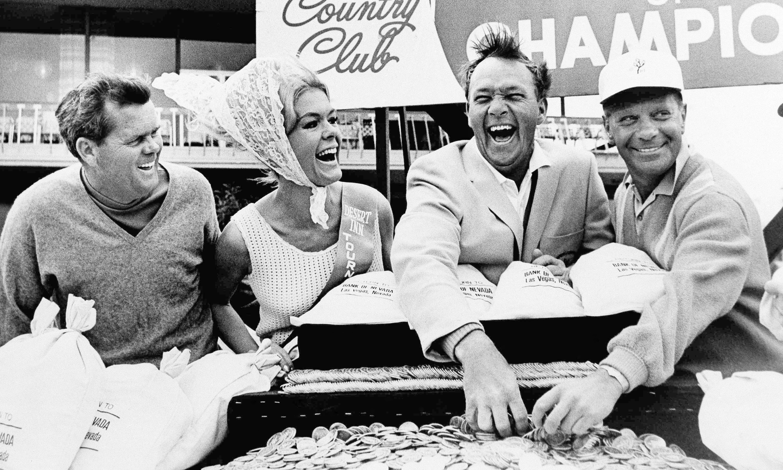Arnold Palmer in Las Vegas in 1966.
