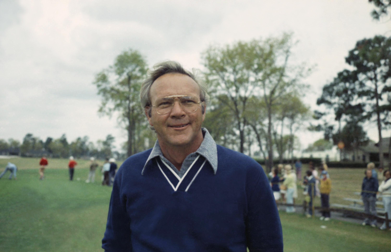 Pro golfer Arnold Palmer in 1974.