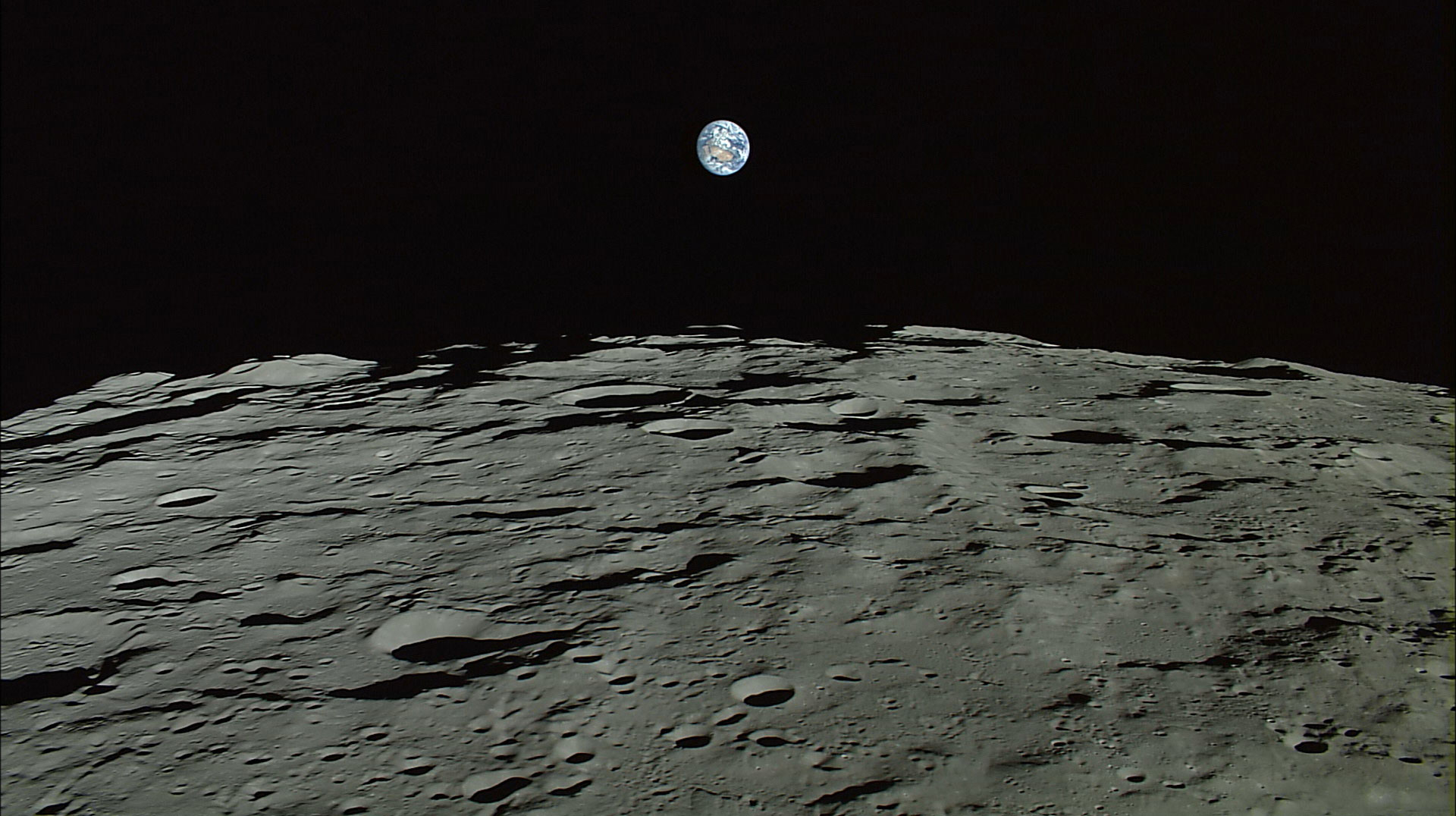 The Japanese Aerospace Exploration Agency, JAXA, released all of the data from its Kayuga spacecraft in Oct. 2016 showing images of the Earth captured from the moons surface.