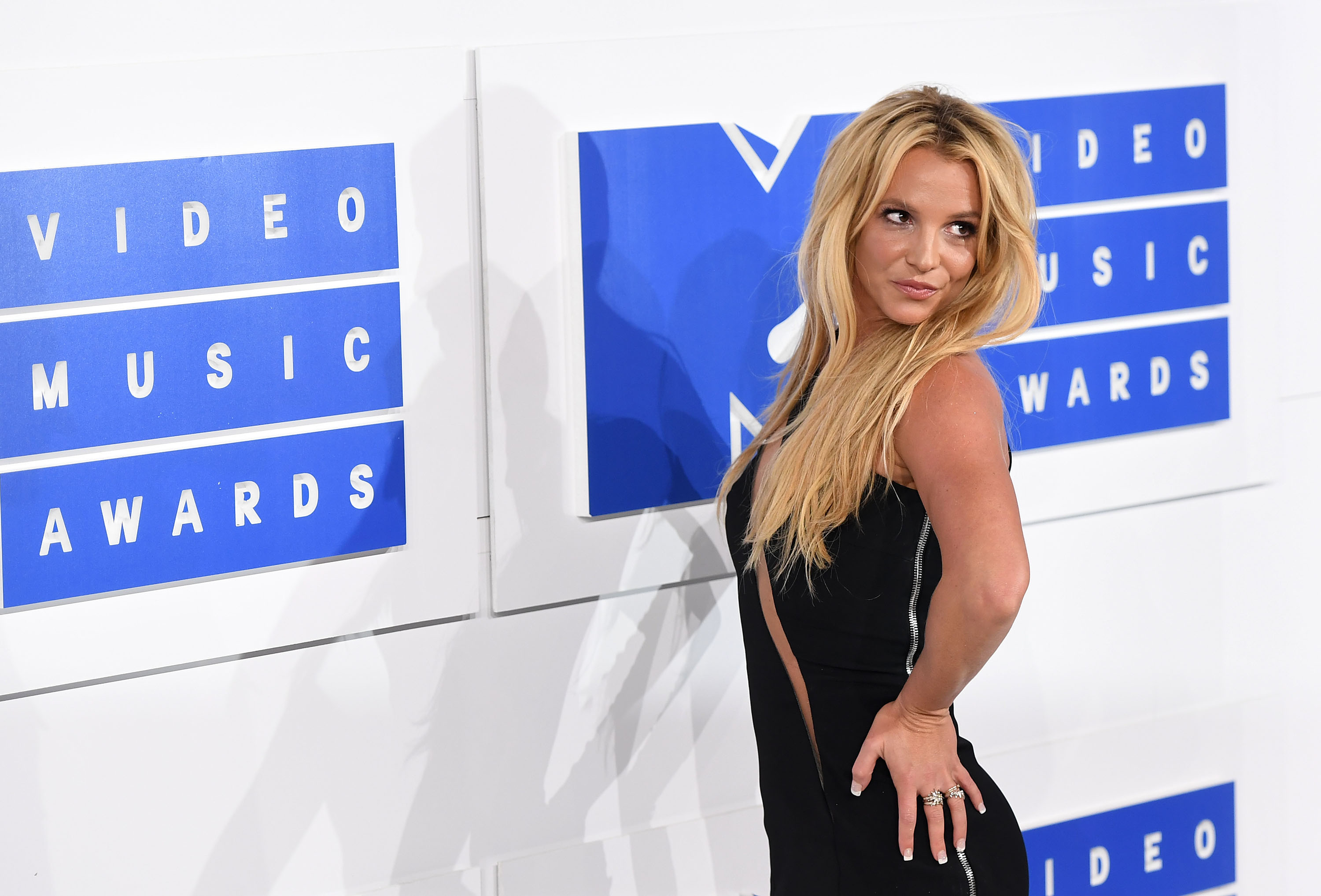 NEW YORK, NY - AUGUST 28:  Singer Britney Spears attends the 2016 MTV Video Music Awards at Madison Square Garden on August 28, 2016 in New York City.  (Photo by C Flanigan/FilmMagic)