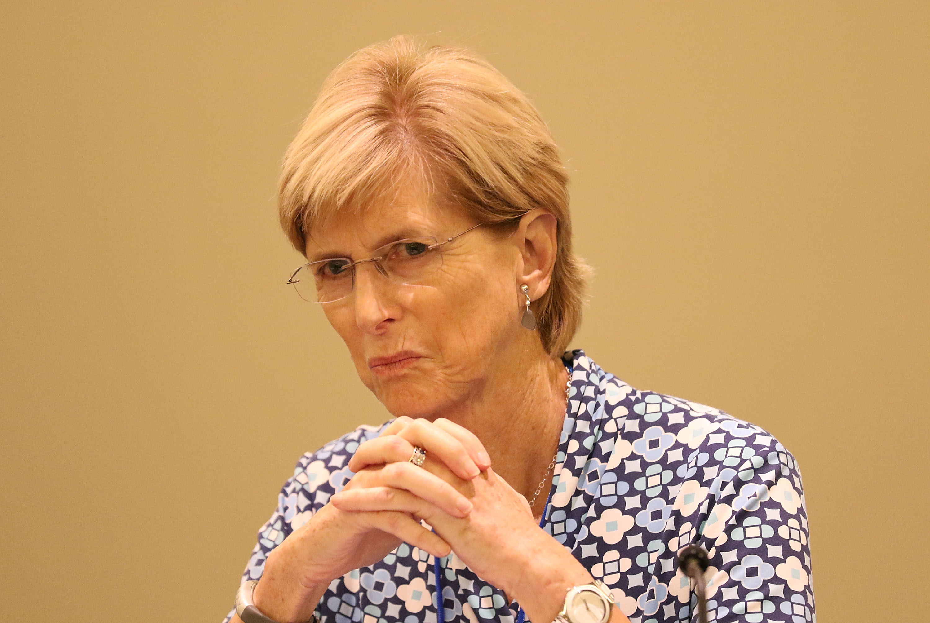 Christine Todd Whitman attends Making Strides: Advancing Women's Leadership - Opening Reception at Vizcaya Museum & Gardens on Nov. 17, 2015 in Miami, Florida.