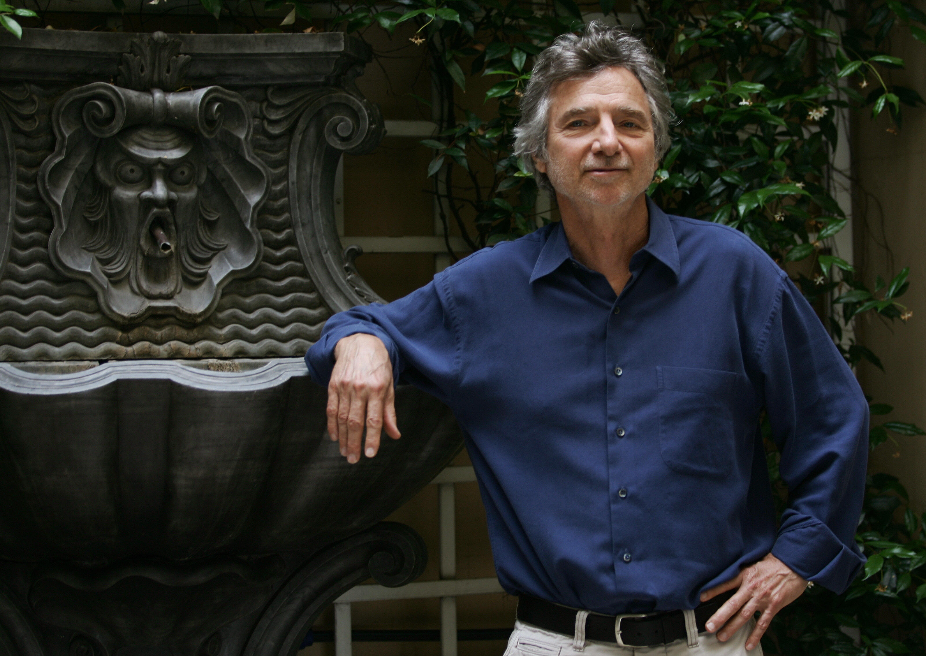 Curtis Hanson in Rome, on June 15, 2007.