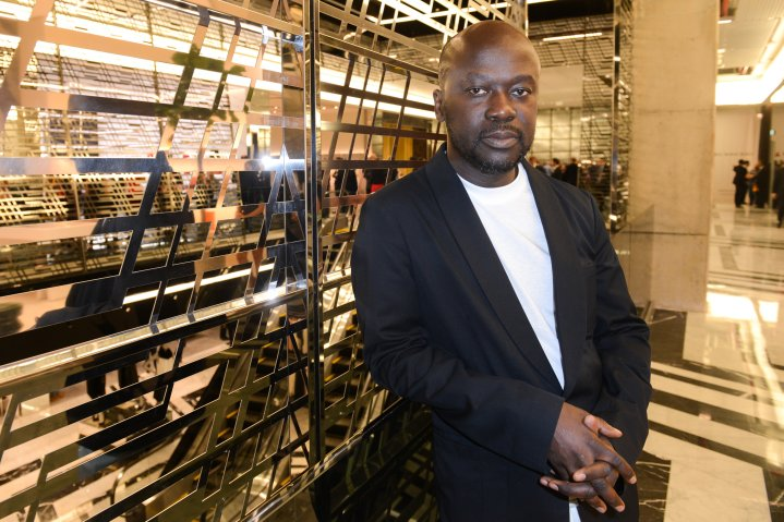 David Adjaye in Dbayeh, near Beirut, Lebanon, on Oct. 25, 2015.
