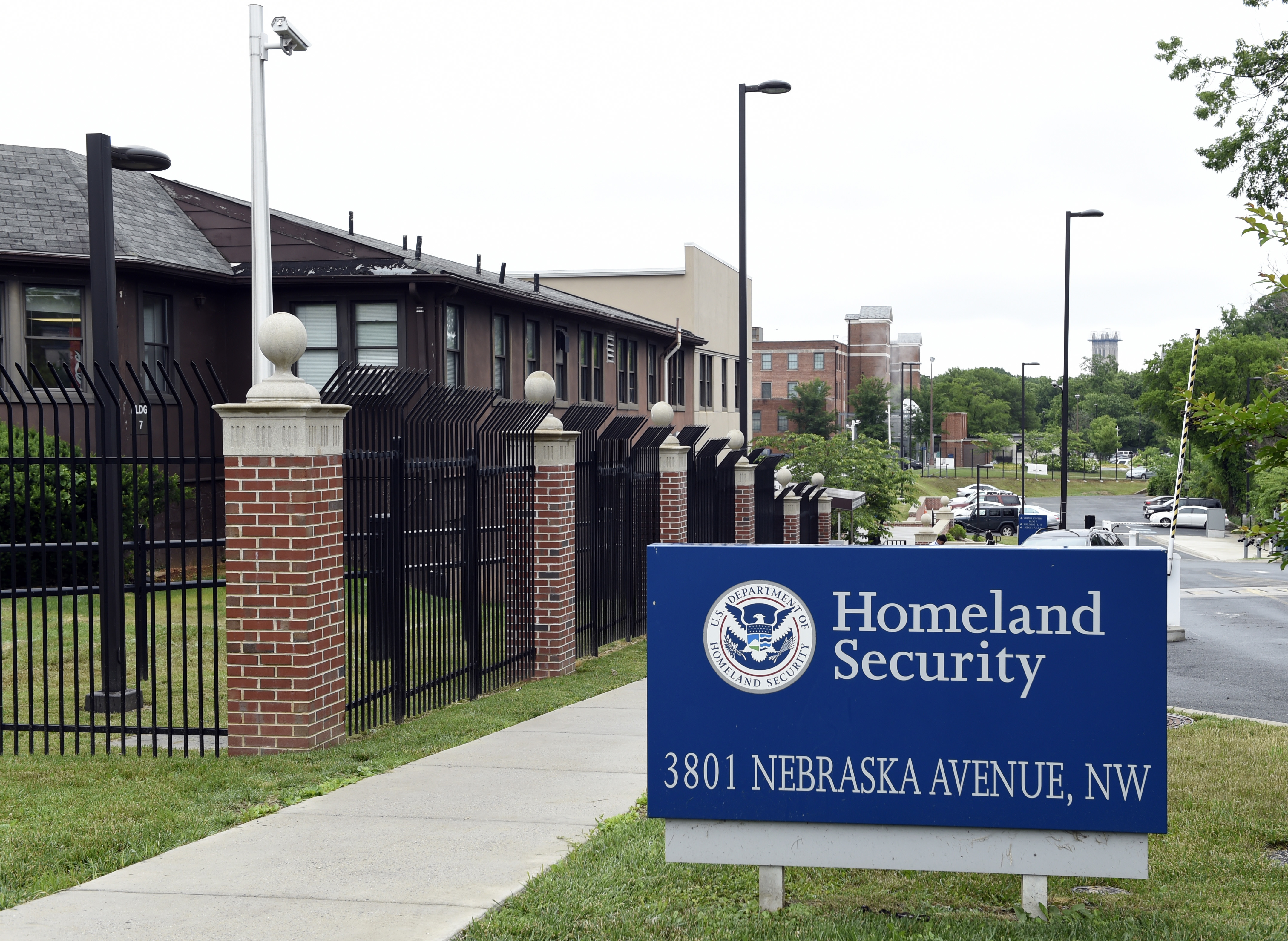 The Homeland Security Department headquarters in Washington, June 5, 2015.