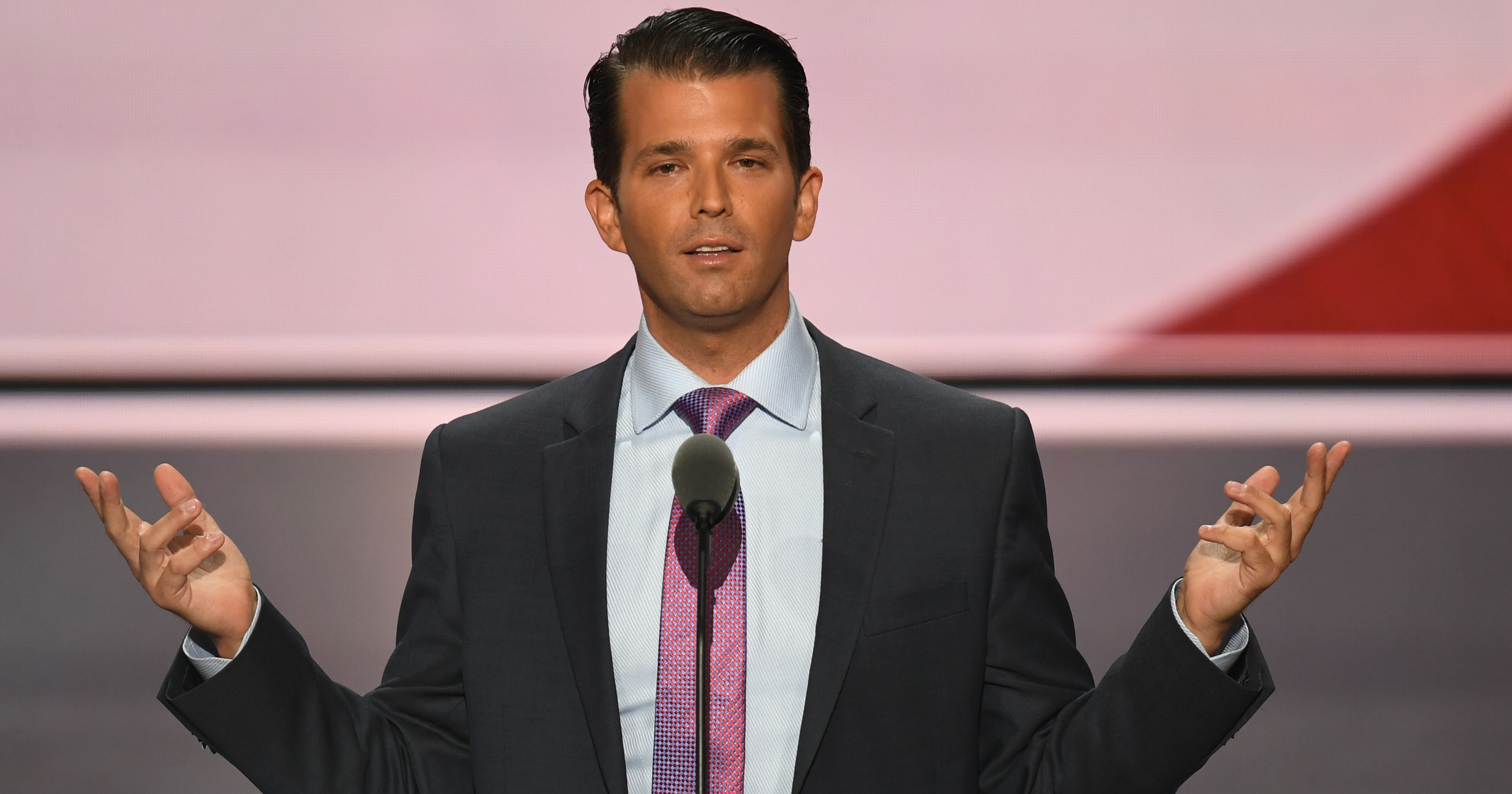 Donald Trump, Jr. in Cleveland, on July 19, 2016.
