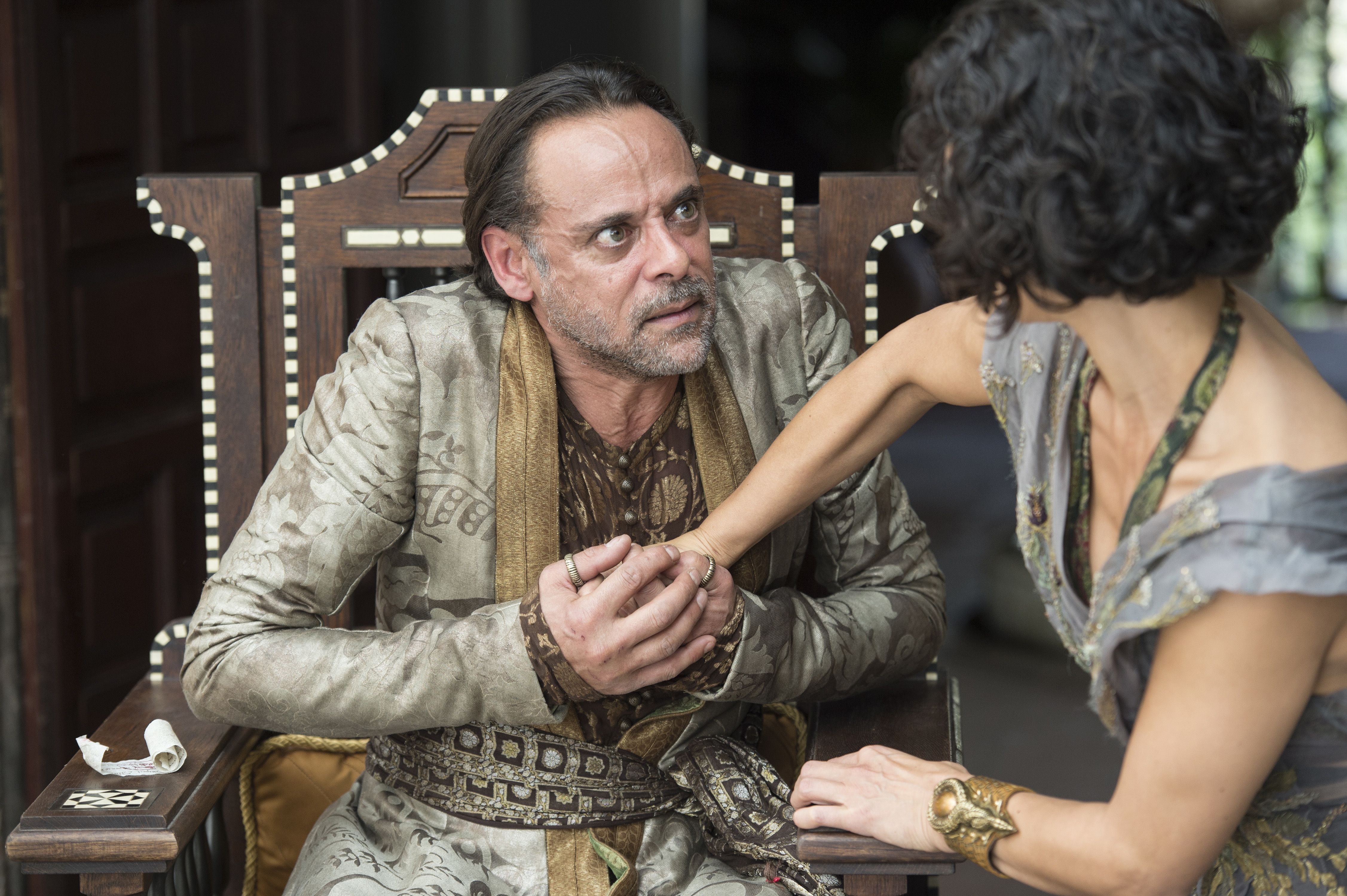 Alexander Siddig and Indira Varma on Game of Thrones
