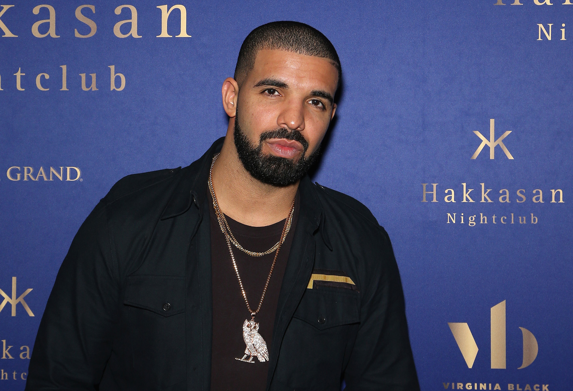 Drake attends the after party for his concert at Hakkasan Las Vegas Nightclub at MGM Grand Hotel & Casino in the early hours of September 12, 2016 in Las Vegas, Nevada.  (Photo by Gabe Ginsberg/Getty Images)