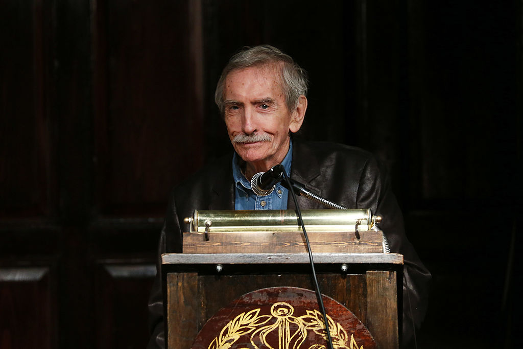 Playwright Edward Albee attends the 2012 Players Foundation Hall Of Fame Induction on Sept. 30, 2012 in New York City.