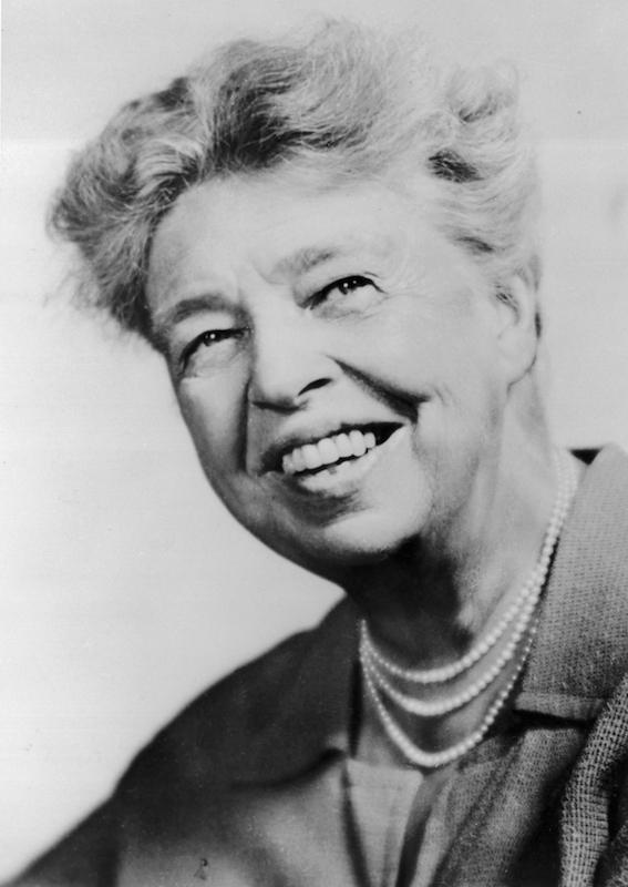 circa 1935:  Headshot of Eleanor Roosevelt