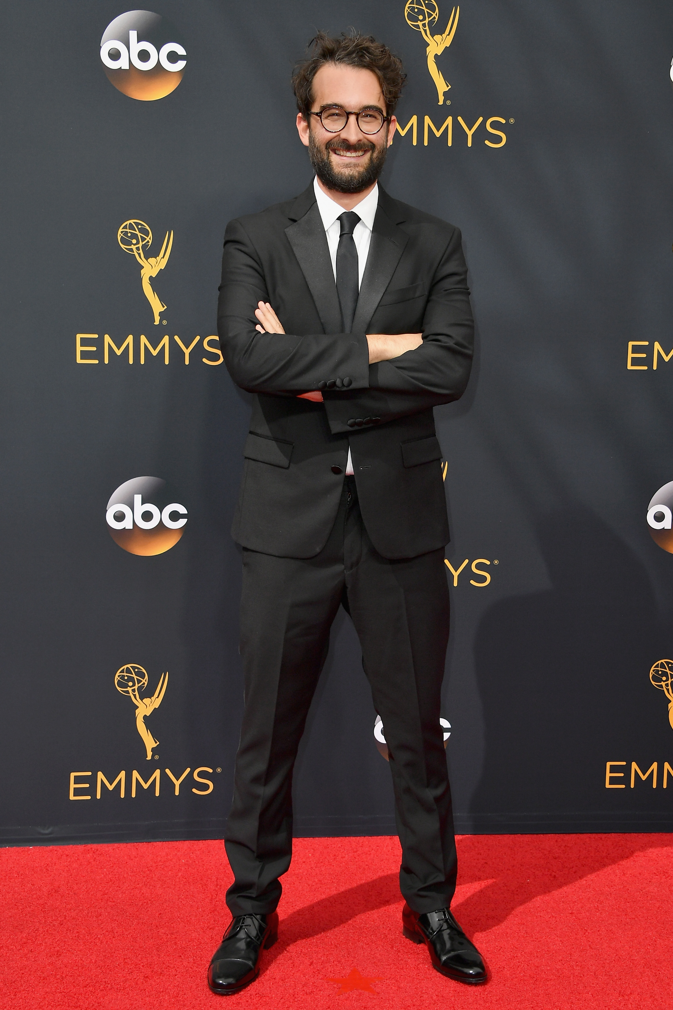 Jay Duplass arrives at the 68th Annual Primetime Emmy Awards at Microsoft Theater on Sept. 18, 2016 in Los Angeles.