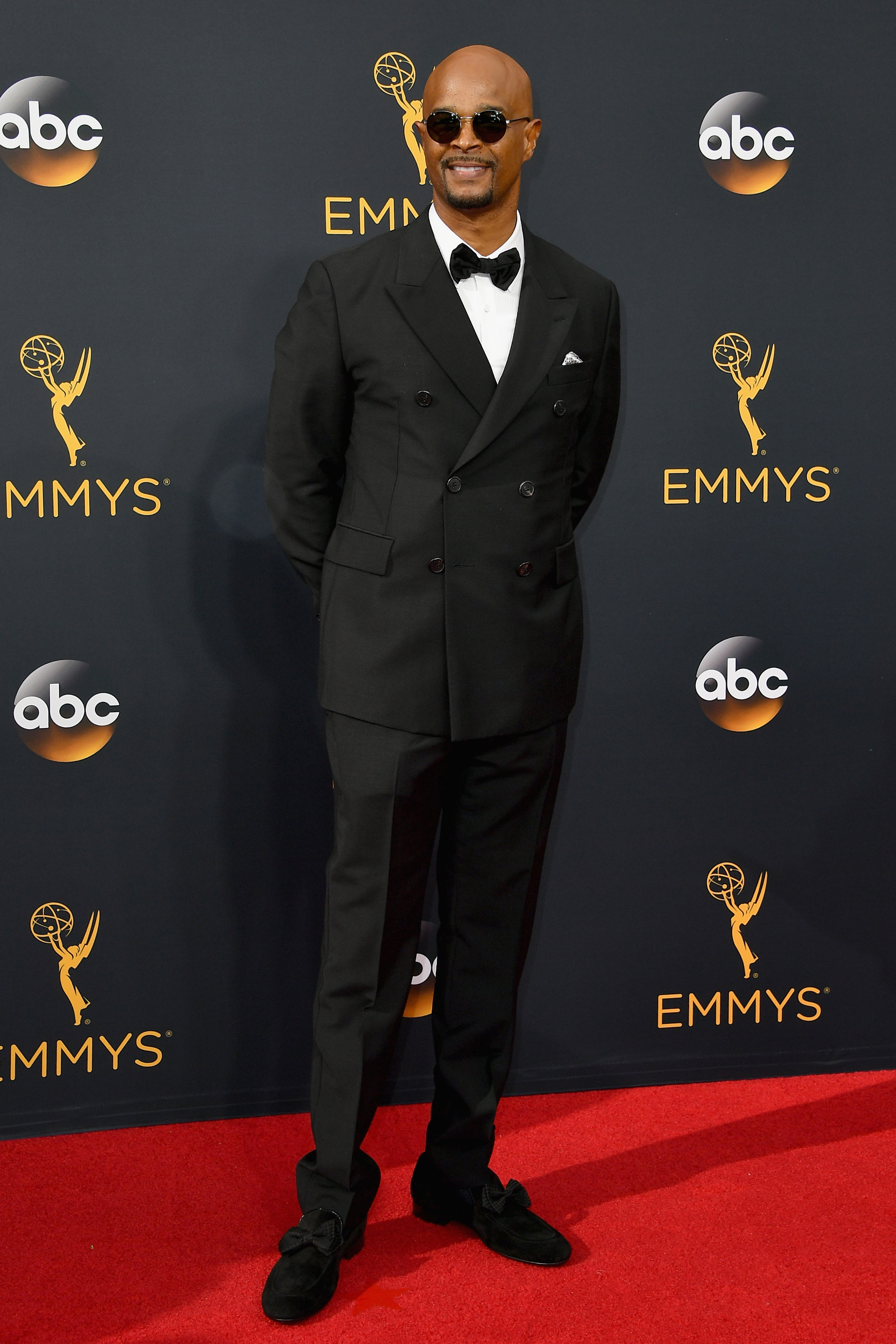 Damon Wayons arrives at the 68th Annual Primetime Emmy Awards at Microsoft Theater on Sept. 18, 2016 in Los Angeles.