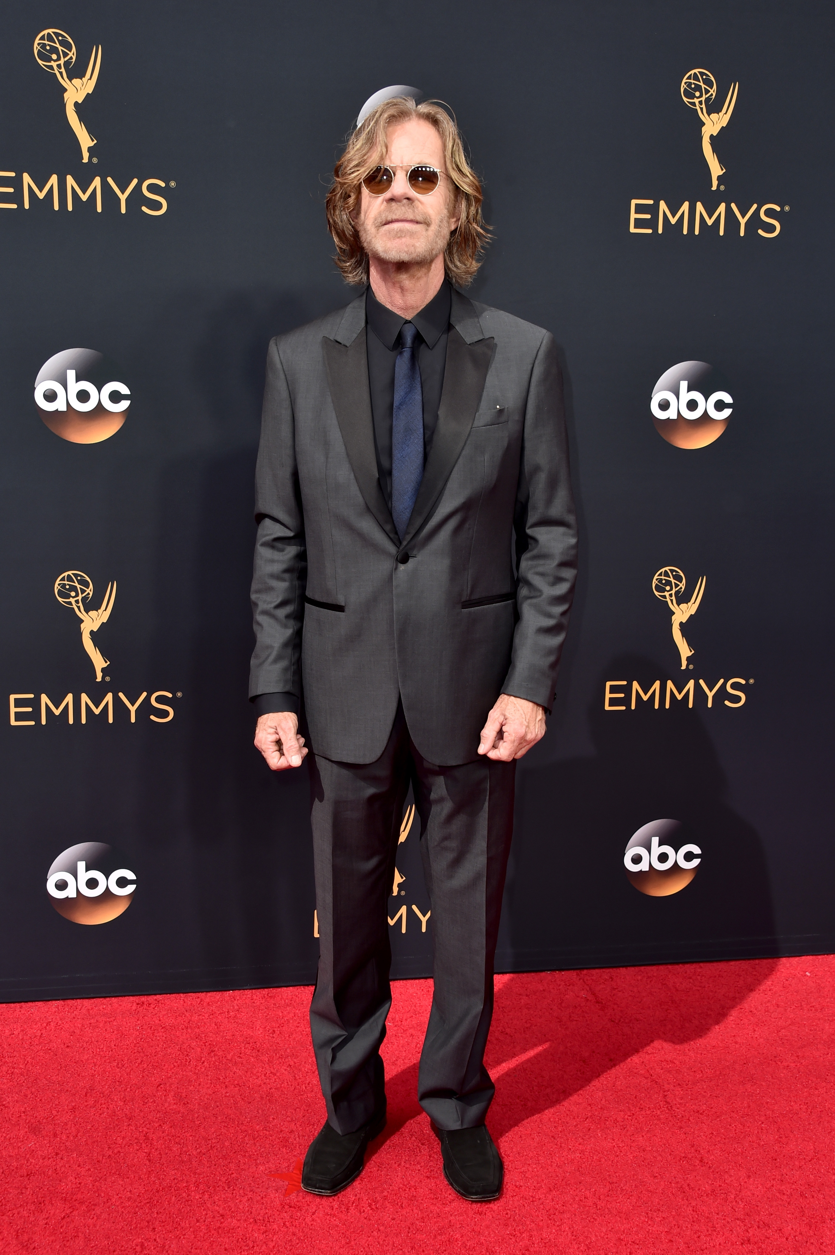 William H. Macy arrives at the 68th Annual Primetime Emmy Awards at Microsoft Theater on Sept. 18, 2016 in Los Angeles.