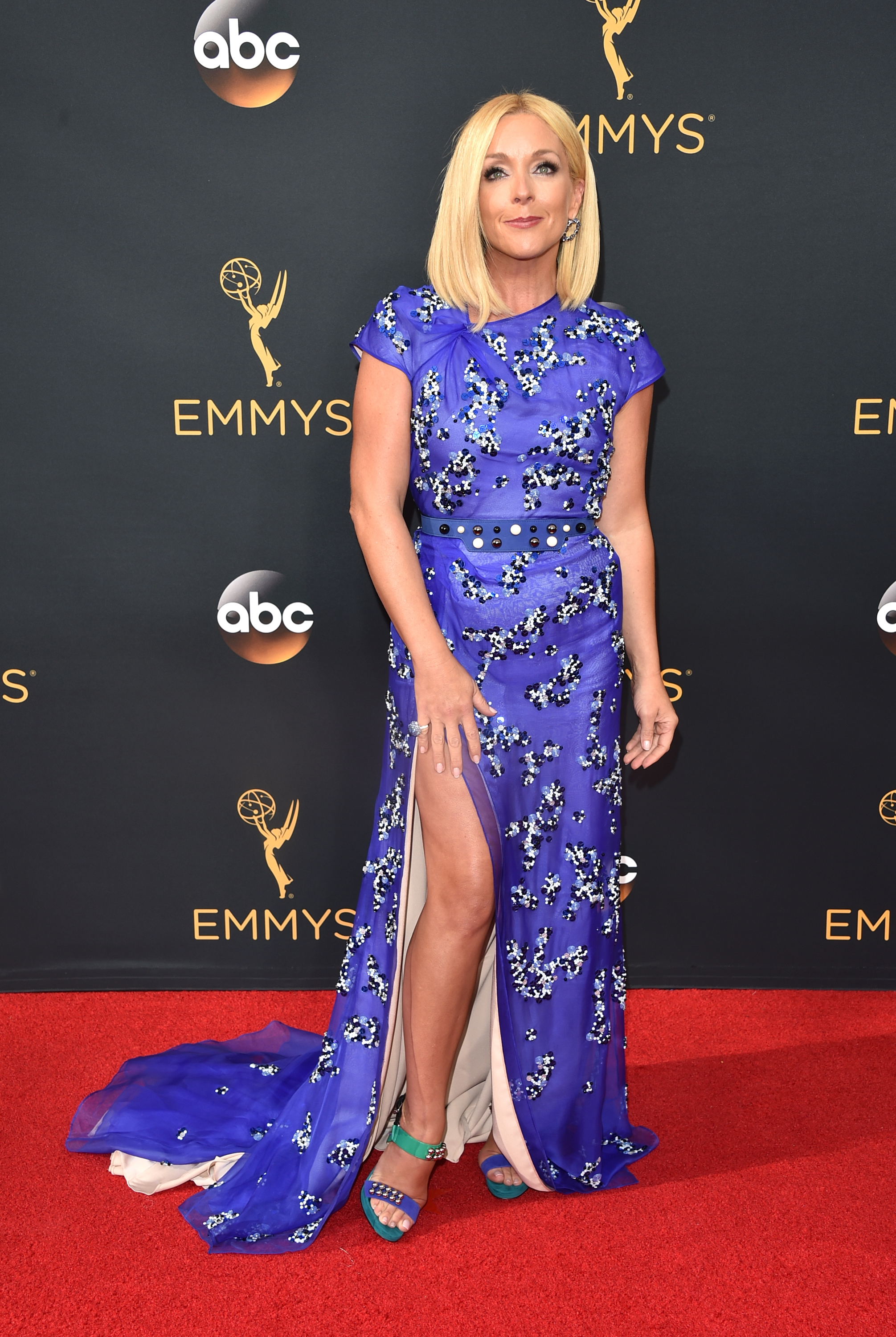 Jane Krakowski arrives at the 68th Annual Primetime Emmy Awards at Microsoft Theater on Sept. 18, 2016 in Los Angeles.