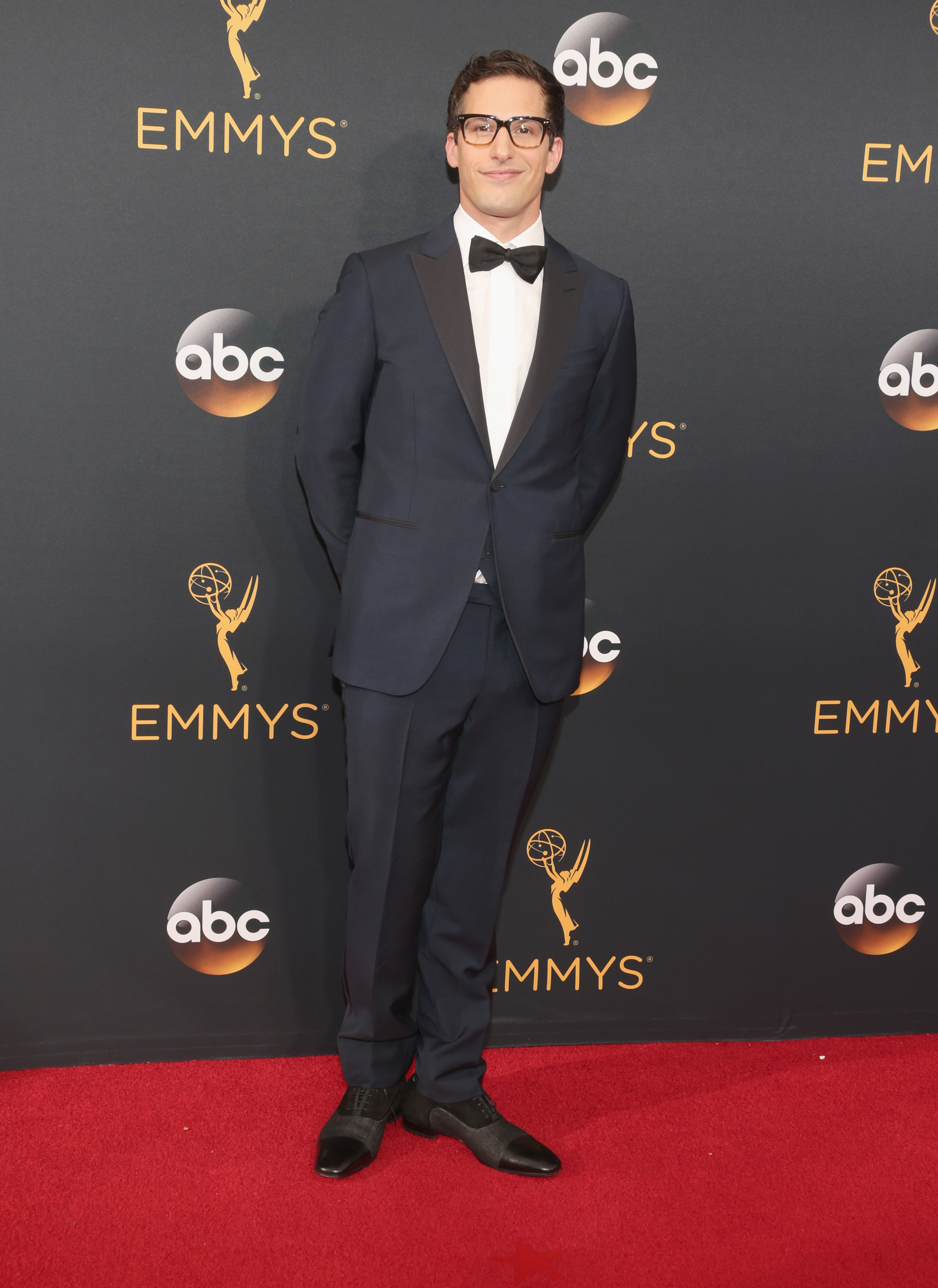 Andy Samberg arrives at the 68th Annual Primetime Emmy Awards at Microsoft Theater on Sept. 18, 2016 in Los Angeles.