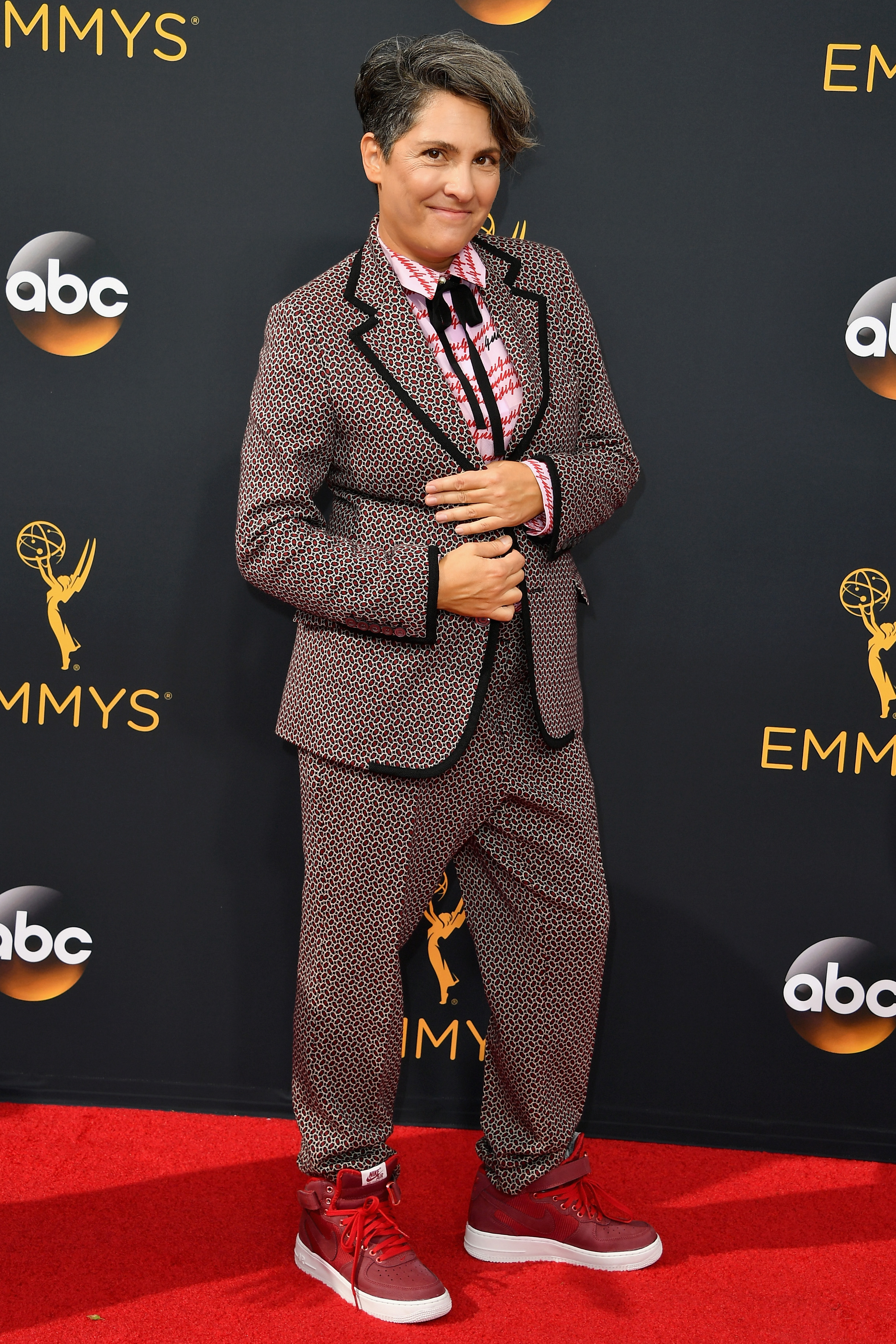 Jill Soloway arrives at the 68th Annual Primetime Emmy Awards at Microsoft Theater on Sept. 18, 2016 in Los Angeles.