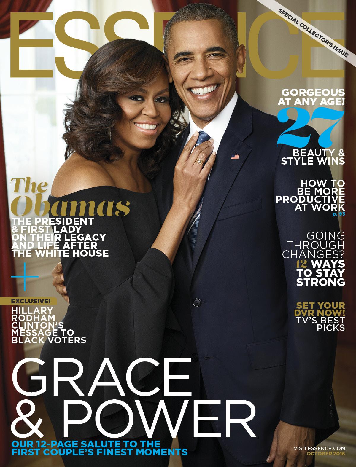 Essence Magazine, October 2016 issue.