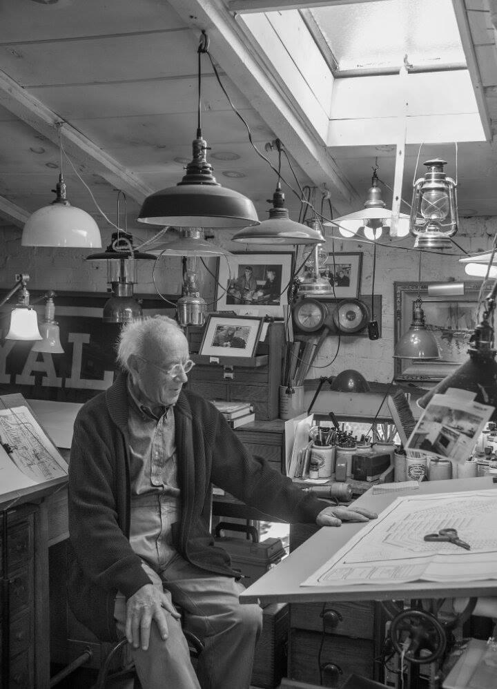 Eugene Lee at his studio in Providence, R.I.