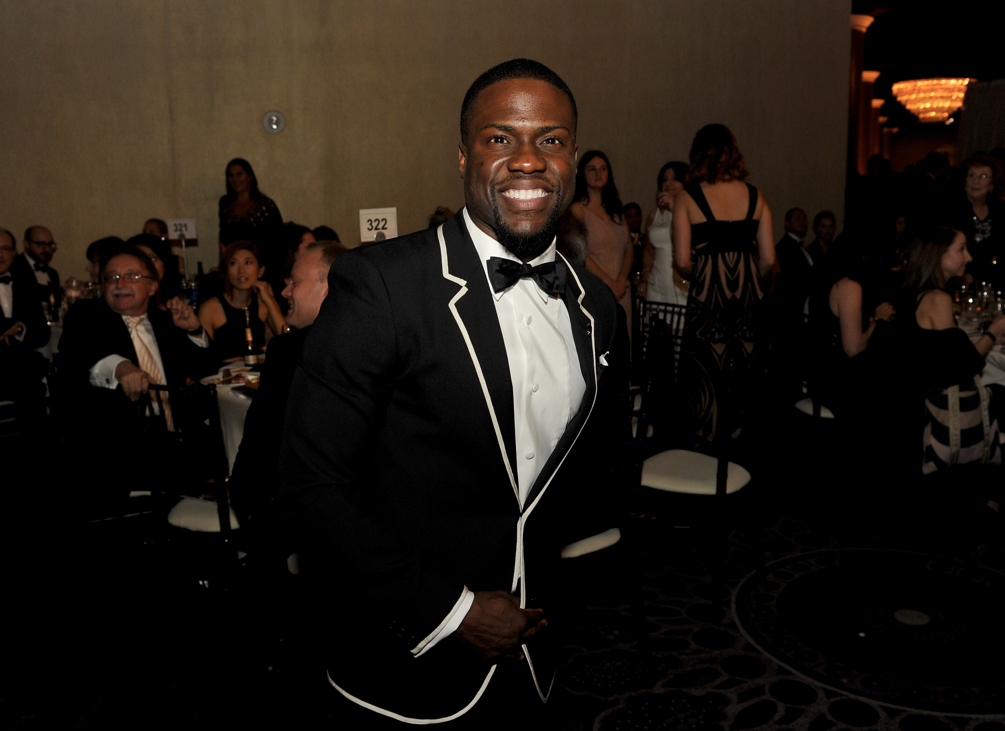 BEVERLY HILLS, CA - JANUARY 11:  Actor Kevin Hart attends the 72nd Annual Golden Globe Awards cocktail party at The Beverly Hilton Hotel on January 11, 2015 in Beverly Hills, California.  (Photo by Kevin Winter/Getty Images)