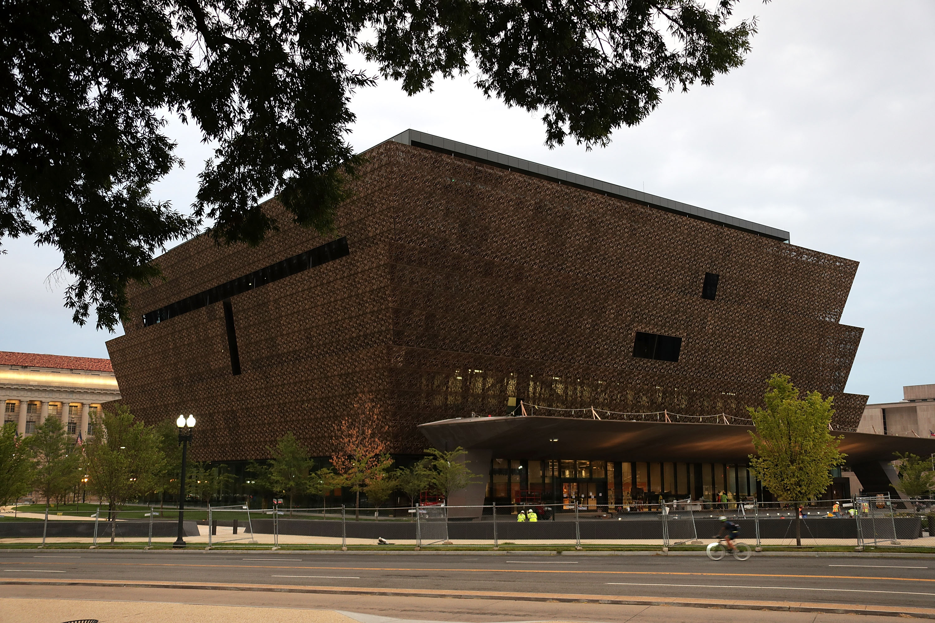 The soon-to-be-opened Smithsonian National Museum of African American History and Culture is seen September 1, 2016 in Washingotn, DC. Alex Wong—Getty Images