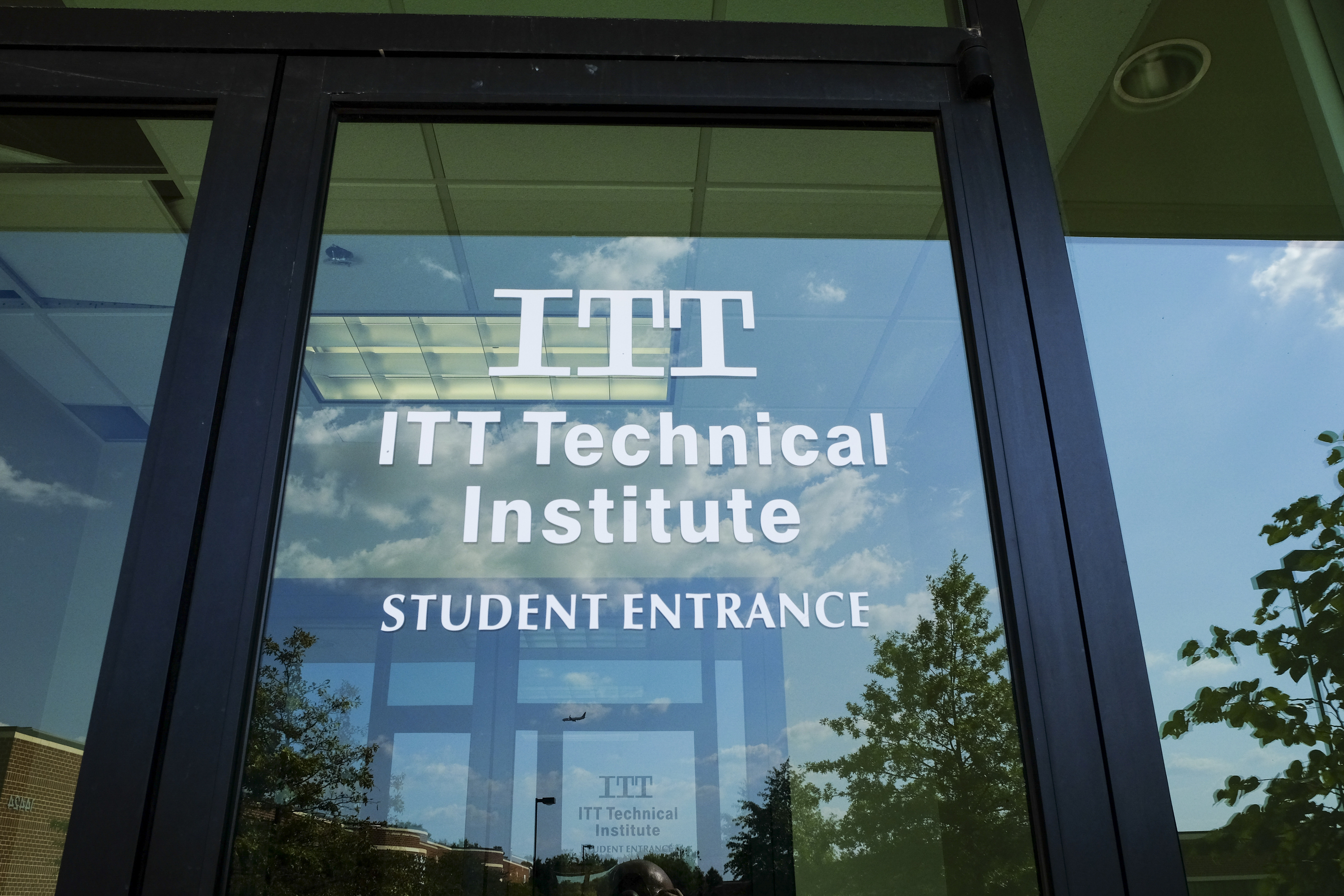The Chantilly Campus of ITT Technical Institute sits closed and empty on Tuesday, September 6, 2016, in Chantilly, VA.