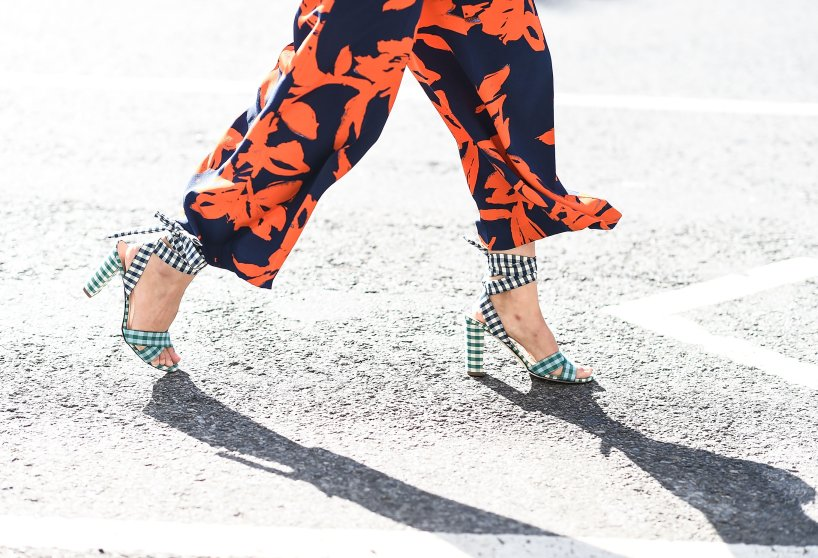 Print mixing was definitely this season's zaniest street-style trend — the only rules to pulling off this style? More is more and brighter is best.