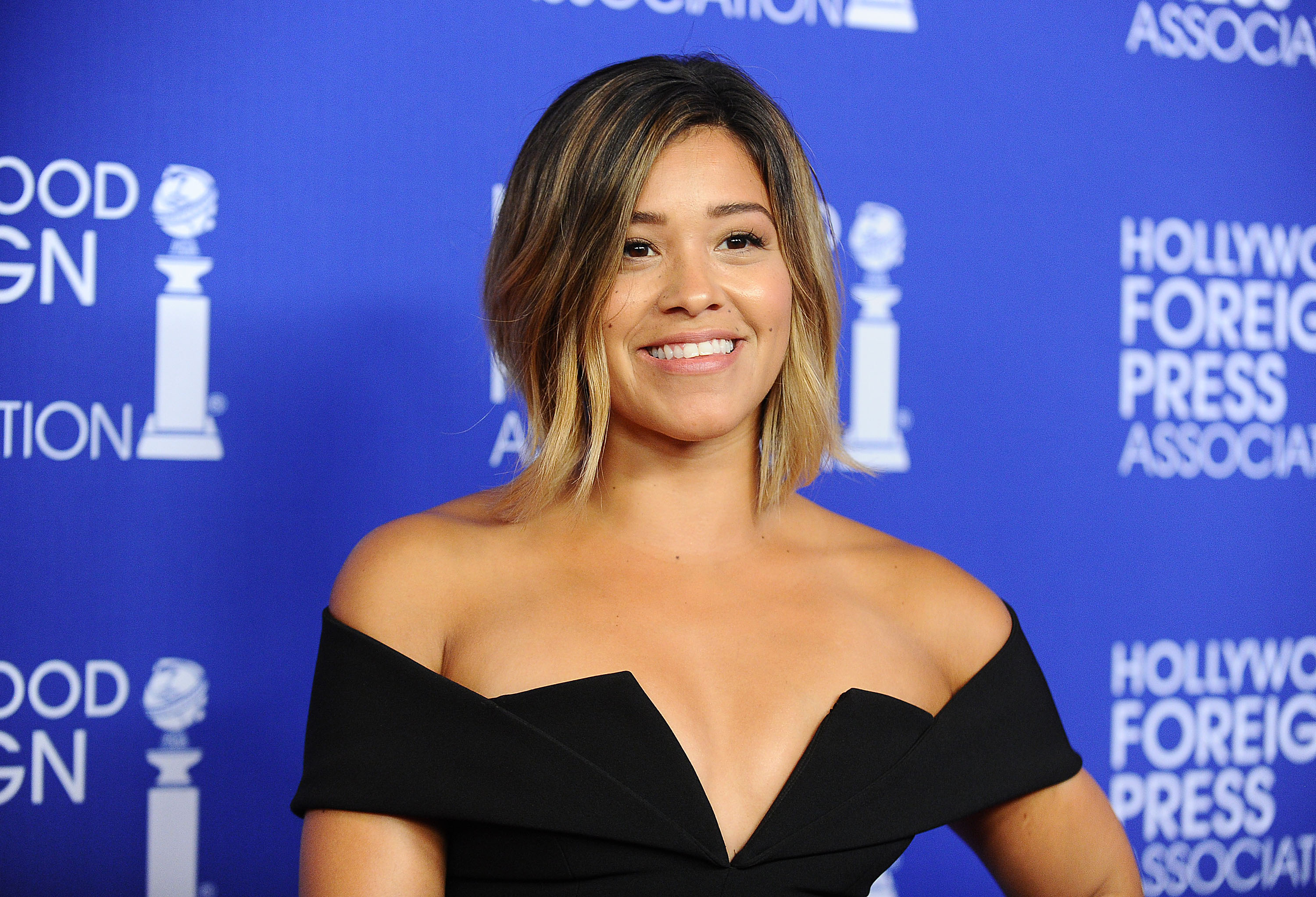 BEVERLY HILLS, CA - AUGUST 05:  Actress Gina Rodriguez attends the Hollywood Foreign Press Association's grants banquet at the Beverly Wilshire Four Seasons Hotel on August 4, 2016 in Beverly Hills, California.  (Photo by Jason LaVeris/FilmMagic)