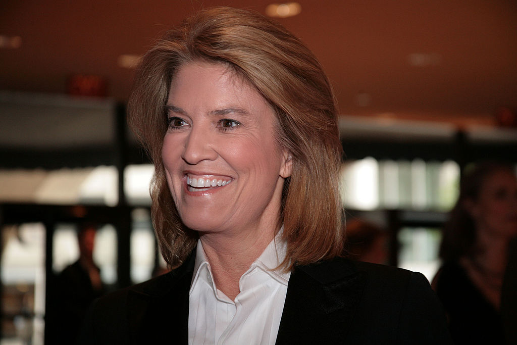 Greta Van Susteren arrives at the White House Correspondents' Association dinner on April 26, 2008 in Washington, DC.