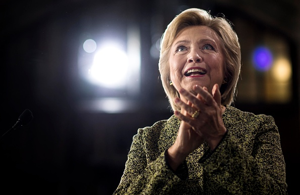 Democratic Nominee for President of the United States former Secretary of State Hillary Clinton speaks to and meets Pennsylvania voters at Temple University in Philadelphia, Pennsylvania on Monday September 19, 2016.