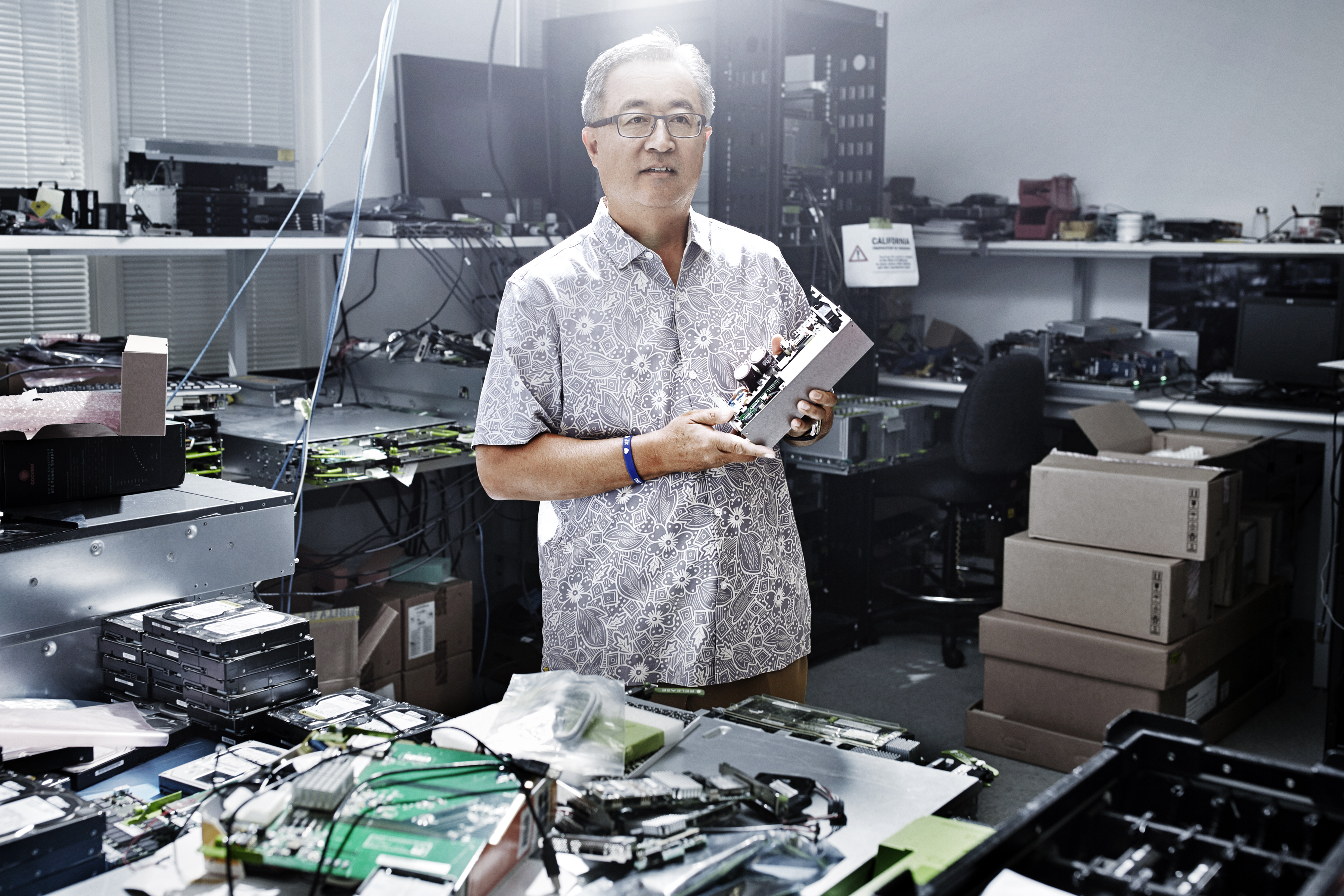 Jay Park, director of data center design and engineering