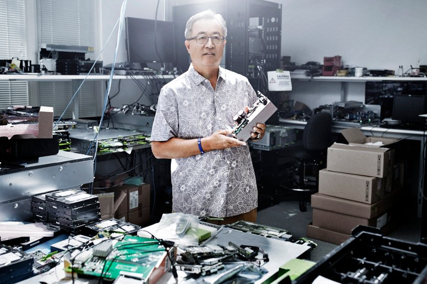 Director of data center design engineering, Jay Park.
