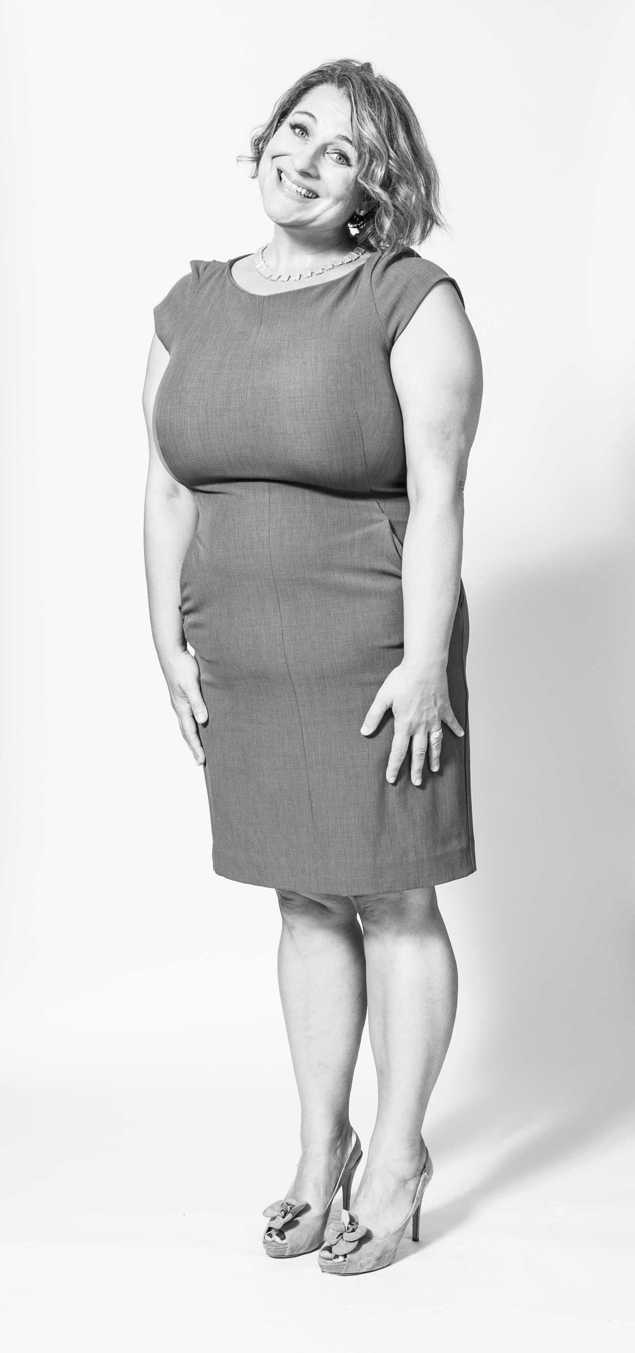 Portrait of author Jennifer Weiner, photographed at the Time Inc. photo studios on Friday, September 9 2016.