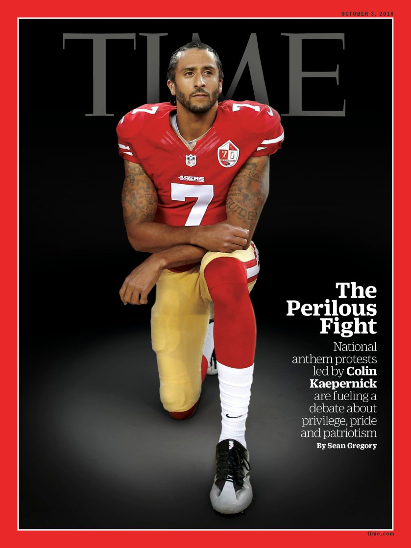 Image result for nfl player quarterback protesting police shootings