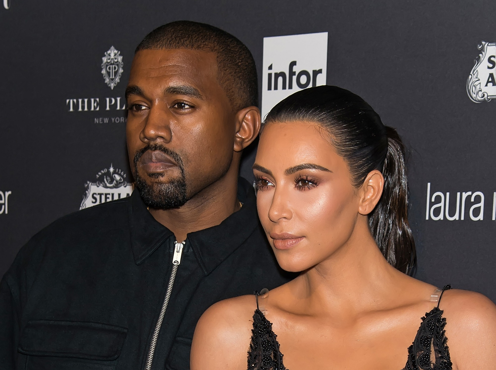 Kanye West and Kim Kardashian West attend Harper's BAZAAR Celebrates 'ICONS By Carine Roitfeld' at The Plaza Hotel on September 9, 2016 in New York City.  (Photo by Gilbert Carrasquillo/Getty Images)