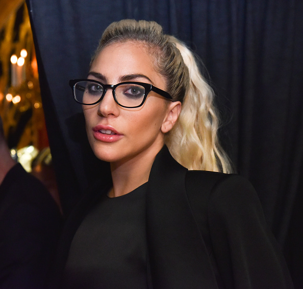 Lady Gaga attends Brandon Maxwell - Backstage - September 2016 - New York Fashion Week at Russian Tea Room on September 13, 2016 in New York City.