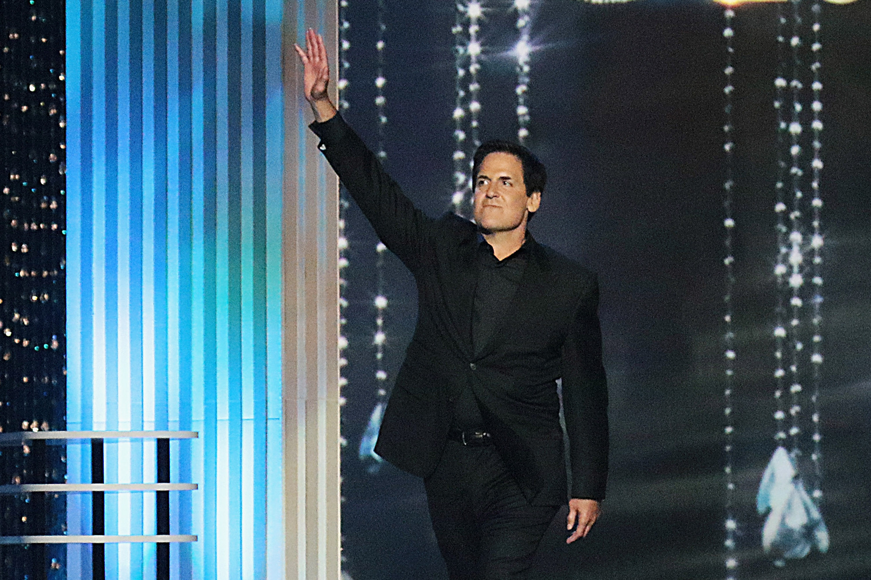 Businessman Mark Cuban appears onstage during the 2017 Miss America Competition at Boardwalk Hall Arena on Sept. 11, 2016 in Atlantic City, New Jersey.