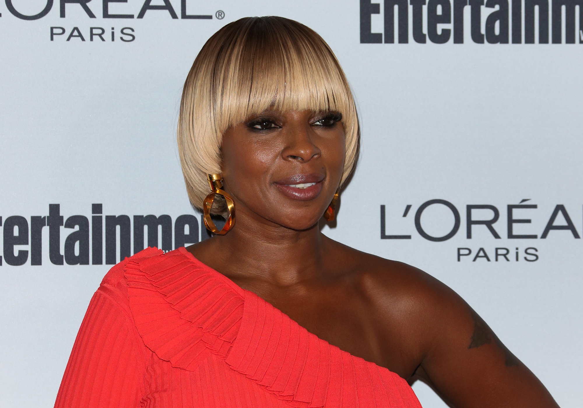 Mary J. Blige attends Entertainment Weekly's 2016 Pre-Emmy party.  (Photo by Paul Archuleta/FilmMagic)