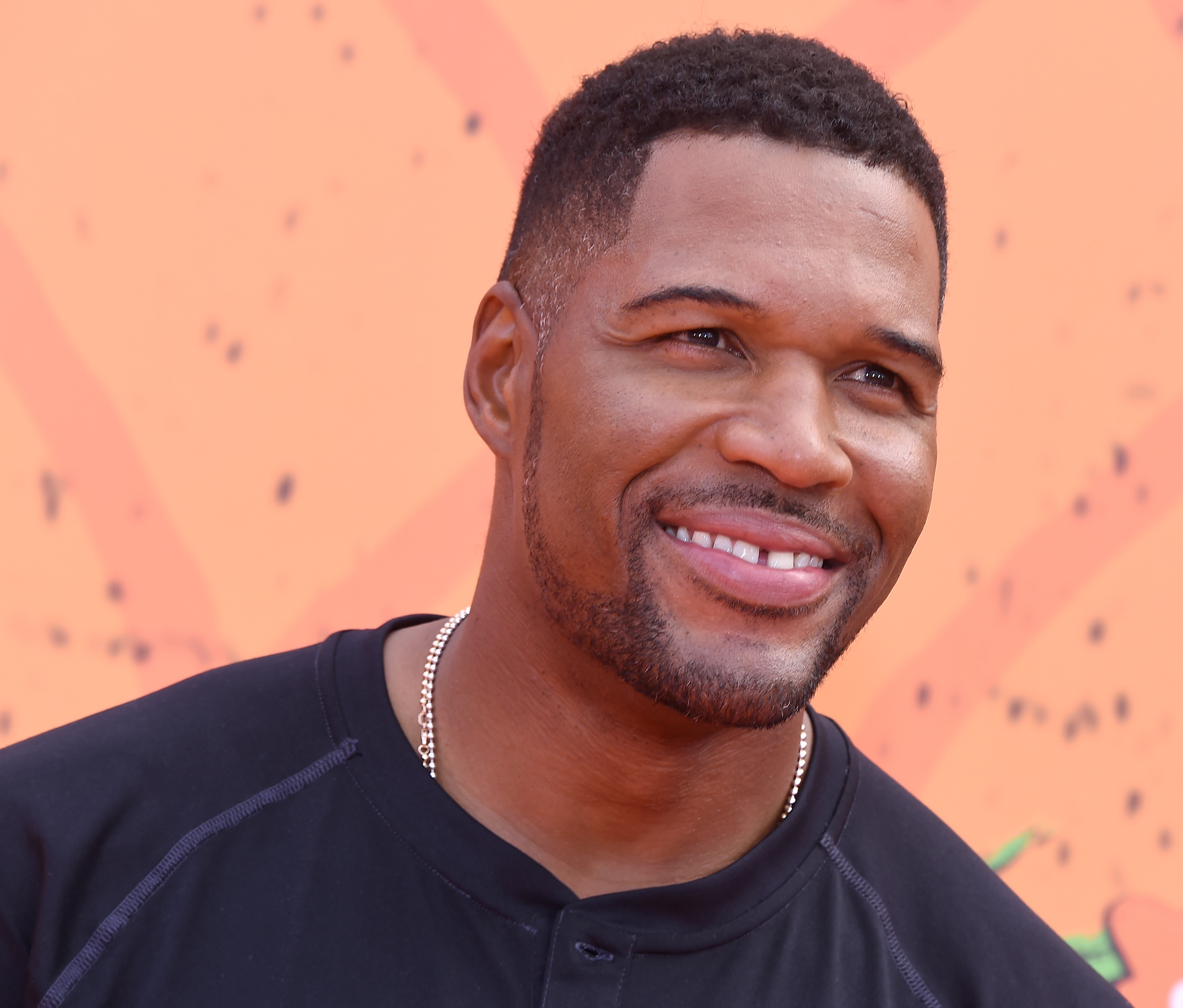 Michael Strahan arrives at Nickelodeon Kids' Choice Sports Awards 2016 at UCLA's Pauley Pavilion on July 14, 2016 in Westwood, California.