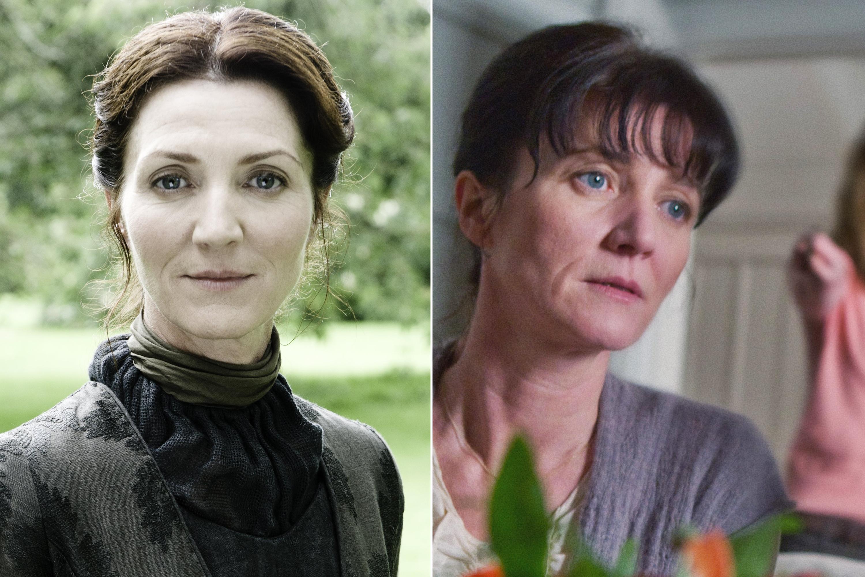 Michelle Fairley as Catelyn Stark and Mrs. Granger