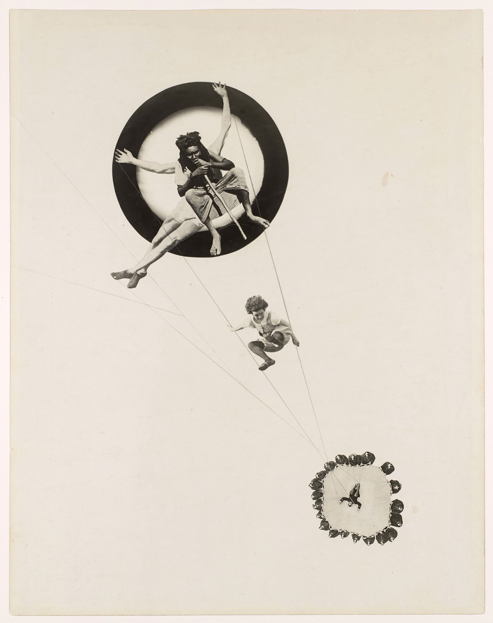 Moholy-Nagy: Future Present, The Art Institute of Chicago, Regenstein Hall, Ill.: Oct. 2 - Jan. 3, 2017                                                              (Caption: Behind the Back of the Gods, 1928)