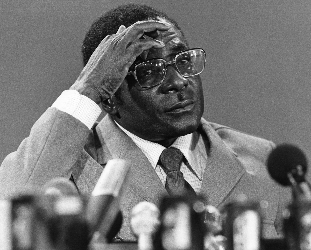 Robert Mugabe in 1980