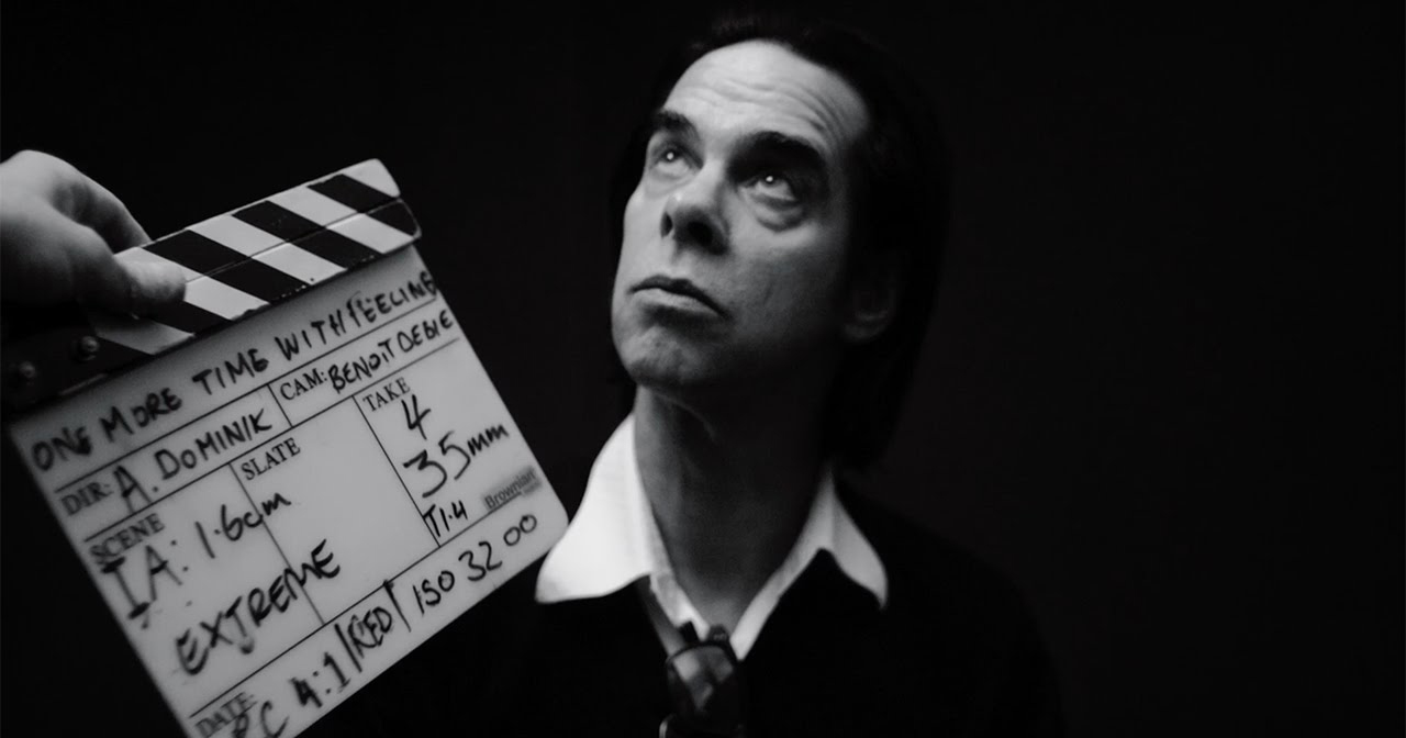 Nick Cave in One More Time With Feeling.