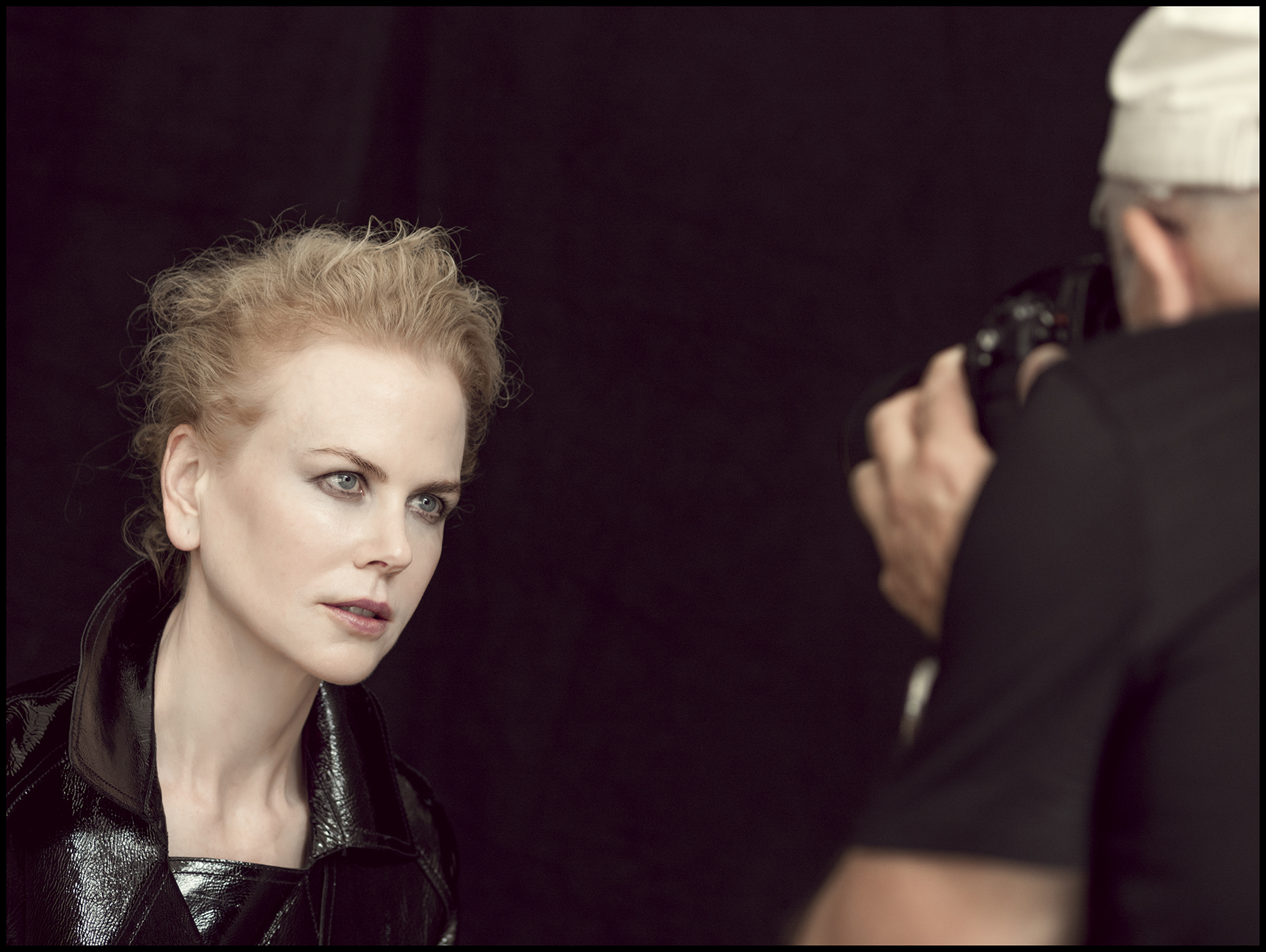 Nicole Kidman - The behind the scenes imagery from the 2017 Pirelli Calendar by Peter Linbergh  by Alessandro Scotti.