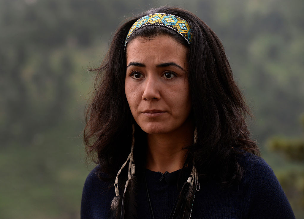 Sitora Yusufiy, ex-wife of Orlando shooter Omar Mateen, talks about her ex-husband from her home in Boulder, CO, on June 13, 2016.